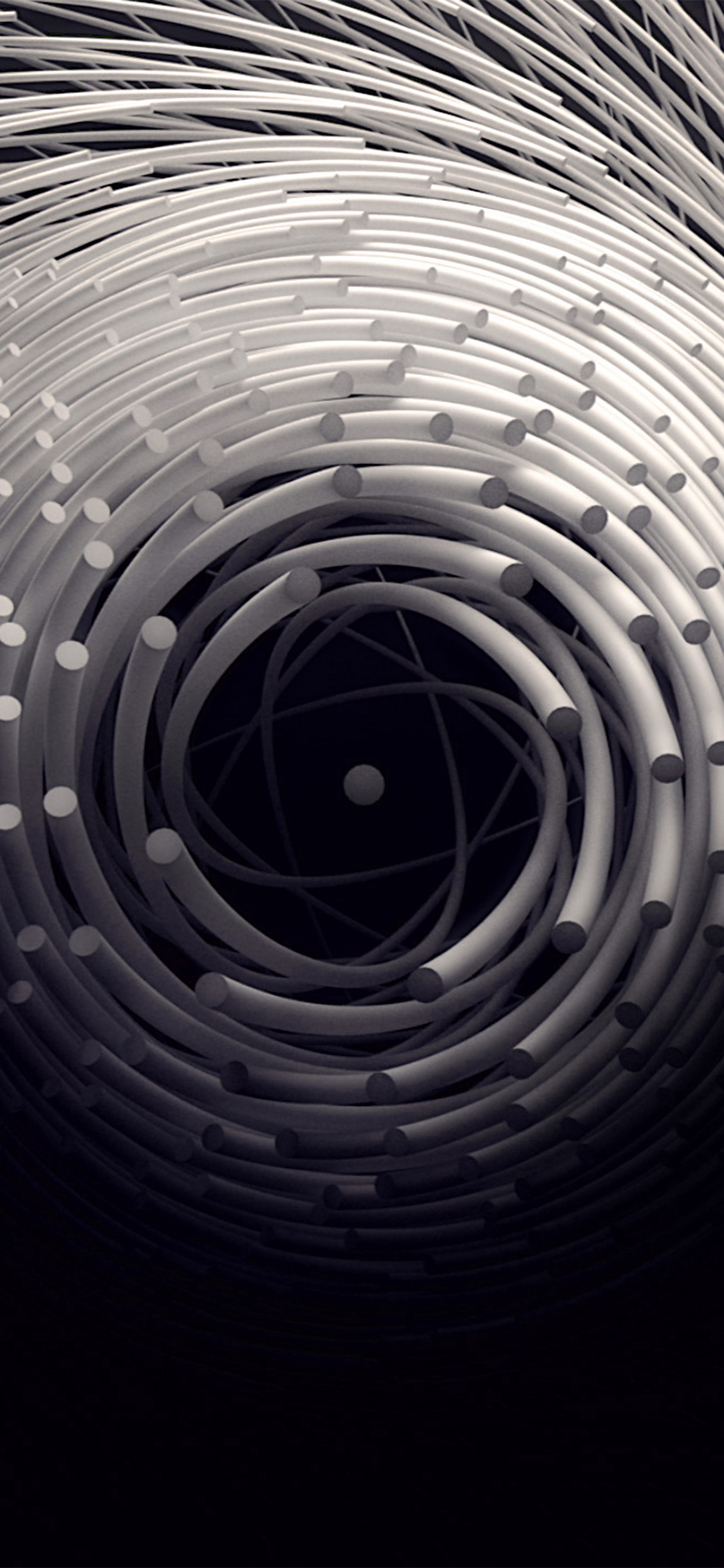 iPhoneXpapers.com-Apple-iPhone-wallpaper-ax82-circle-3d-dark-abstact-illustration-art