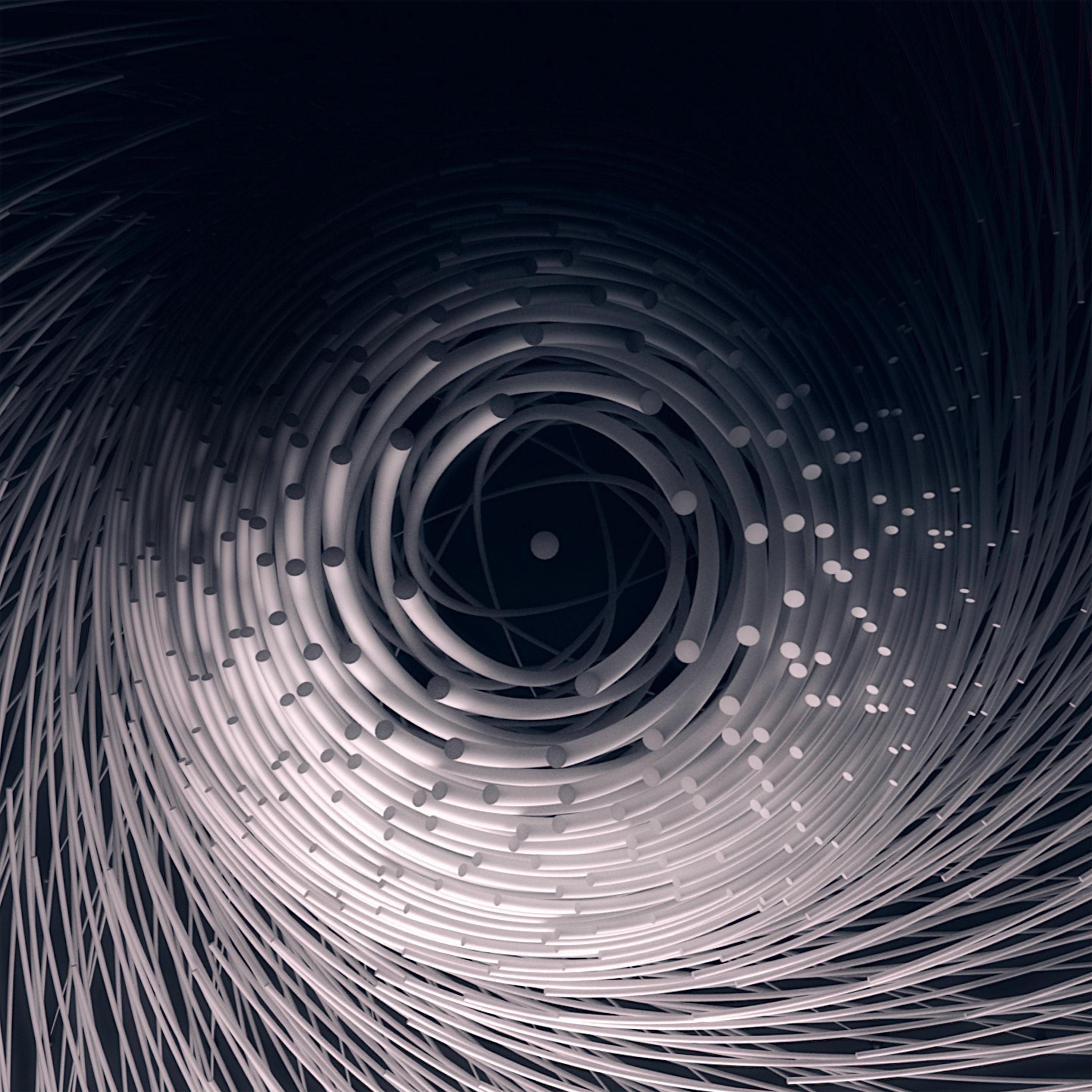 Circle Wallpaper: Ax83-circle-3d-dark-abstact-illustration-art-fantastic