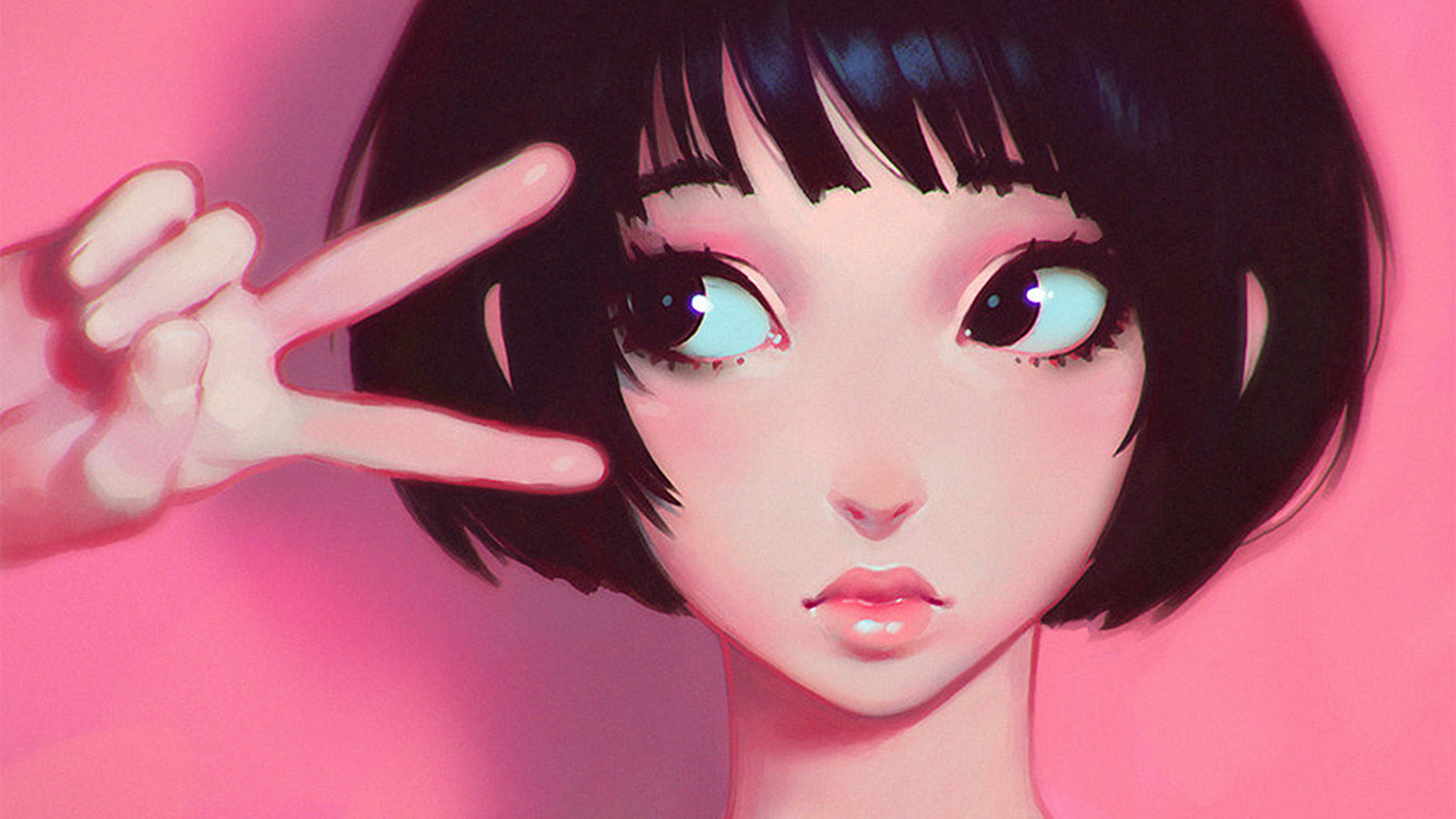 desktop-wallpaper-laptop-mac-macbook-air-ay03-ilya-kuvshinov-pink-girl-illustration-art-wallpaper