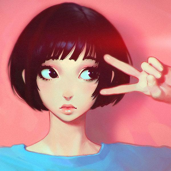 iPapers.co-Apple-iPhone-iPad-Macbook-iMac-wallpaper-ay04-ilya-kuvshinov-pink-girl-illustration-art-pink-flare-wallpaper