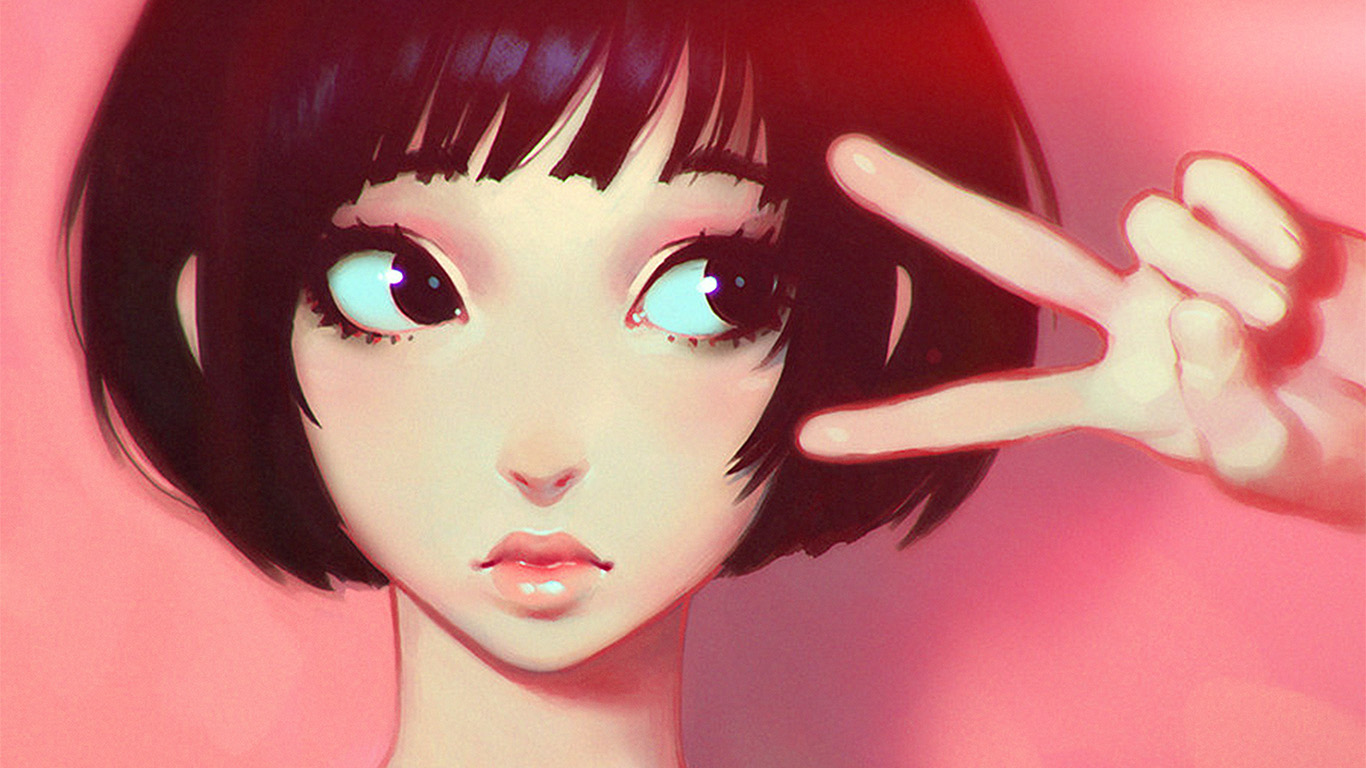 wallpaper-desktop-laptop-mac-macbook-ay04-ilya-kuvshinov-pink-girl-illustration-art-pink-flare