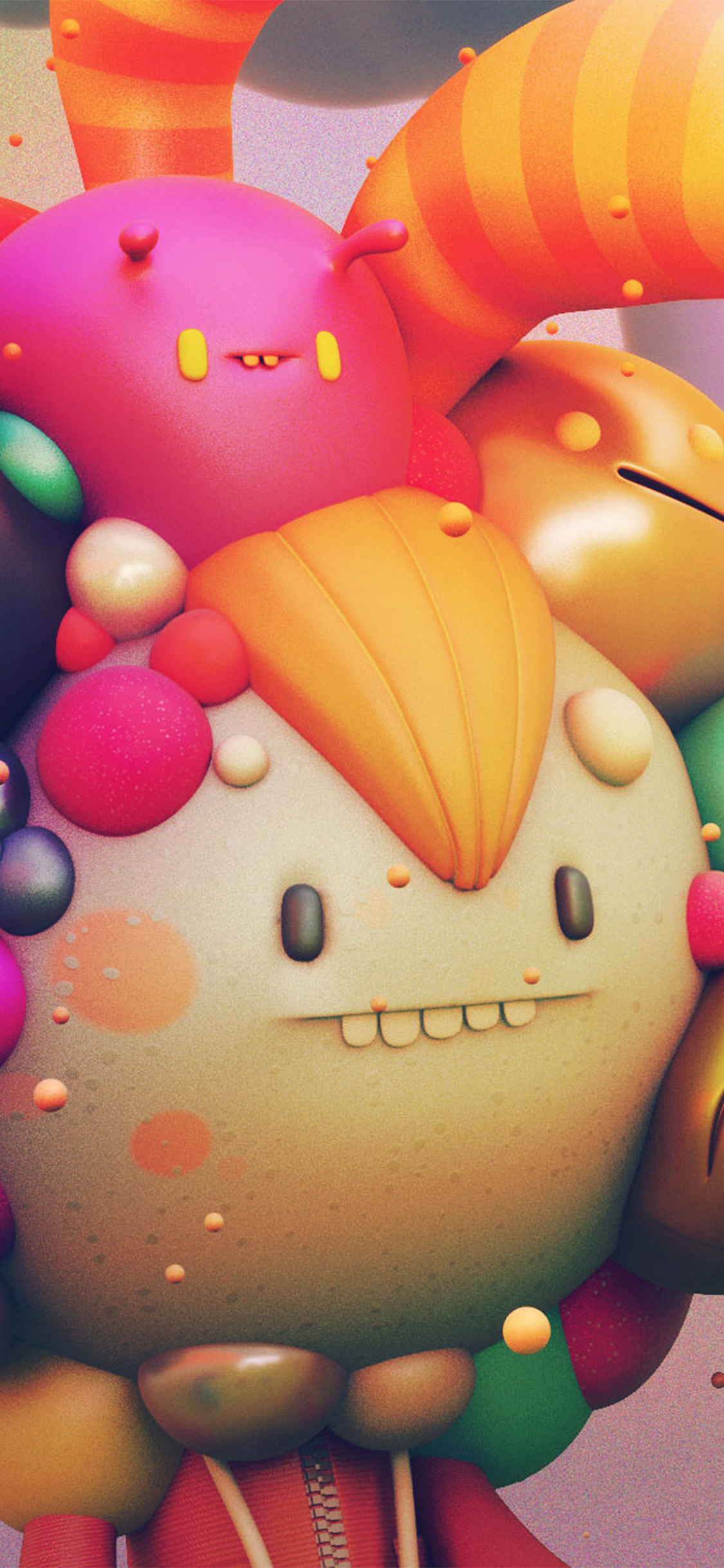 iPhoneXpapers.com-Apple-iPhone-wallpaper-ay16-cute-monster-character-3d-illustration-art