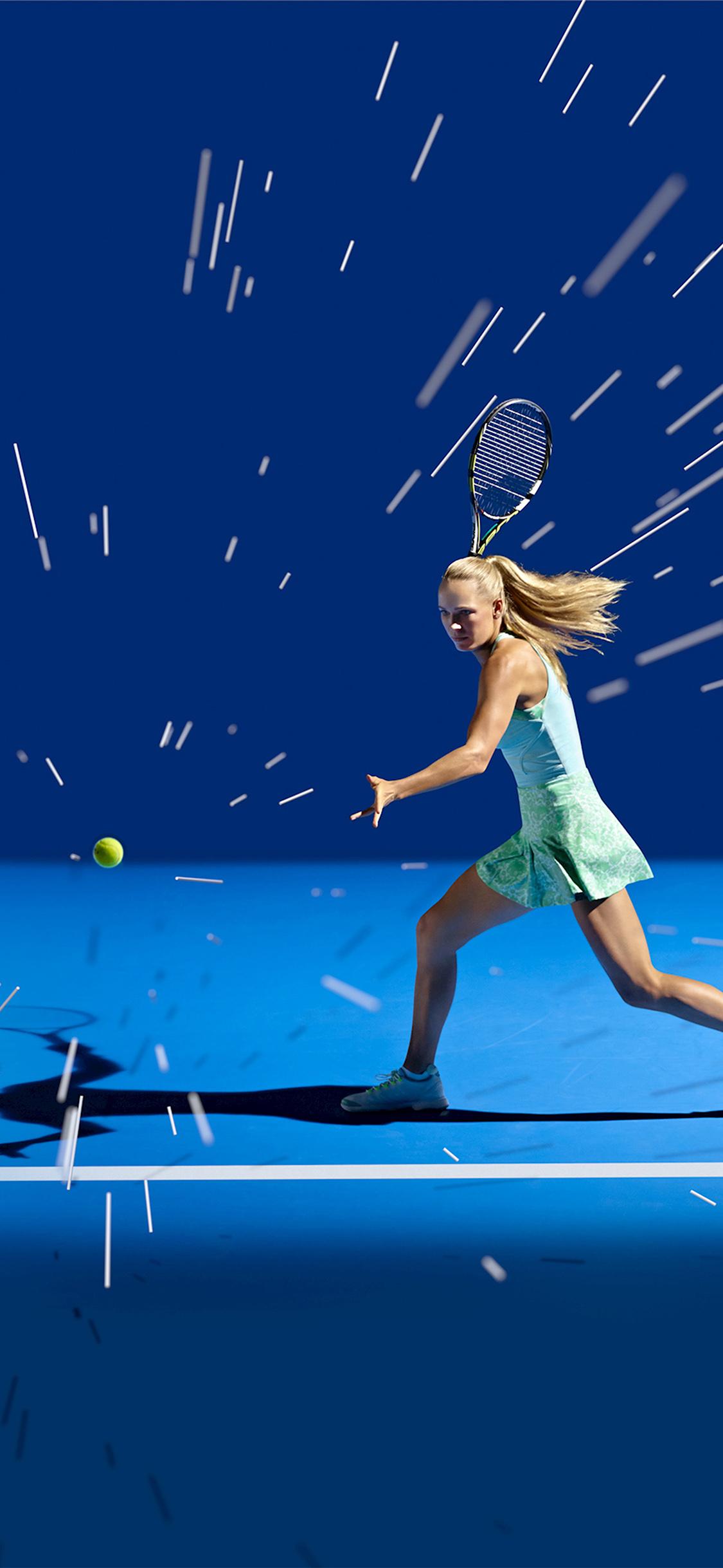 iPhoneXpapers.com-Apple-iPhone-wallpaper-ay17-tennis-girl-blue-sports-illustration-art