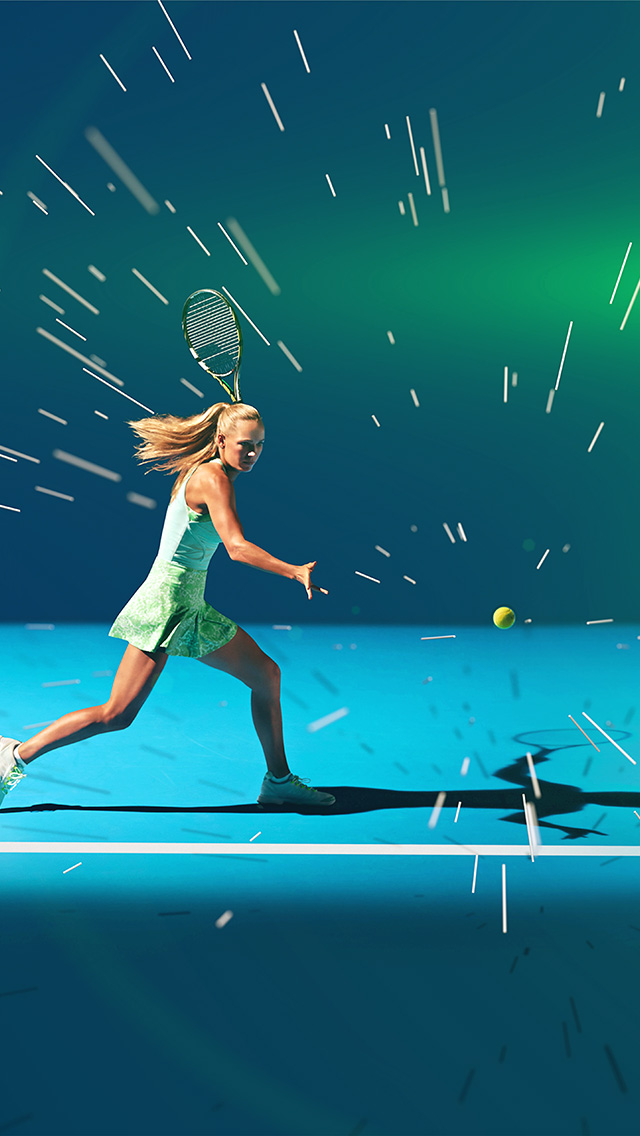 freeios8.com-iphone-4-5-6-plus-ipad-ios8-ay18-tennis-girl-blue-sports-illustration-art-flare