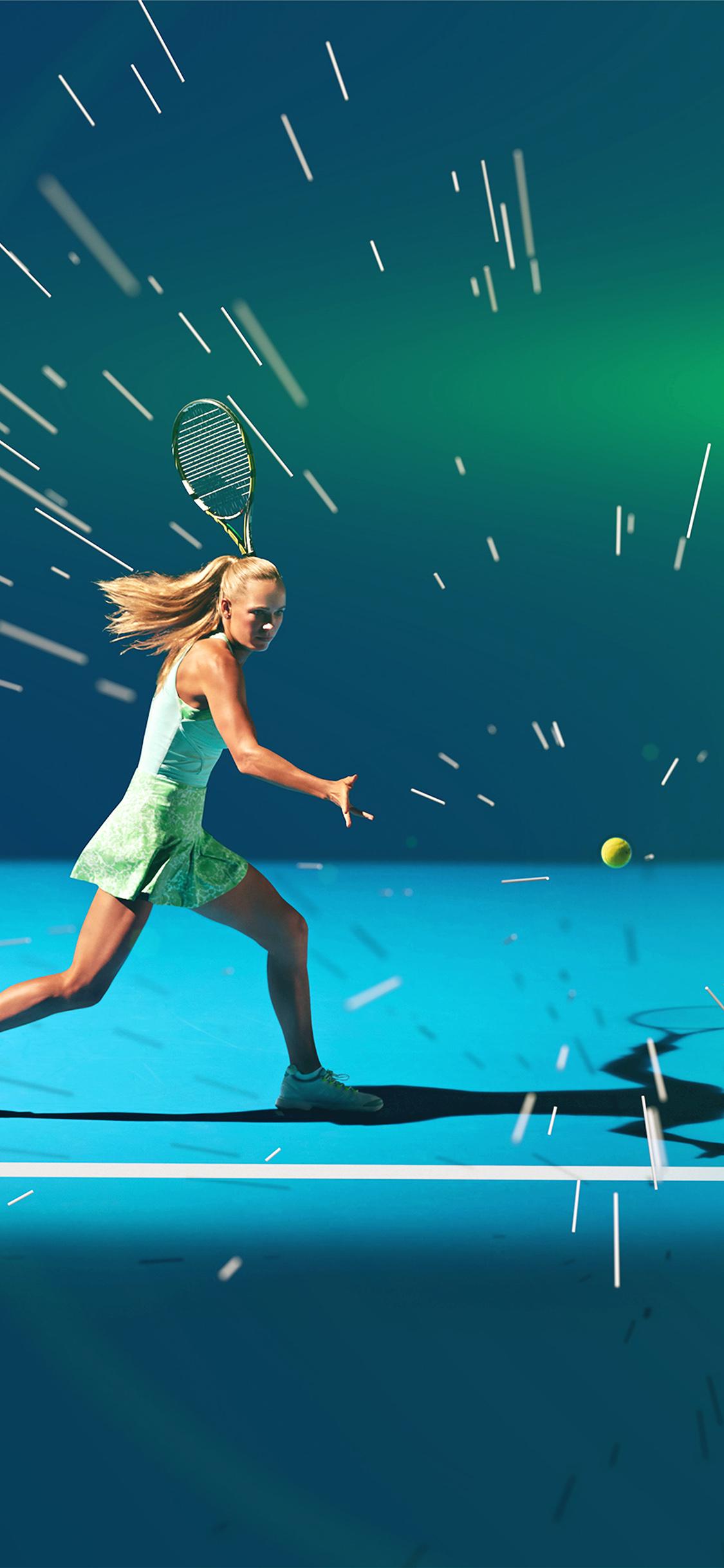 iPhonexpapers.com-Apple-iPhone-wallpaper-ay18-tennis-girl-blue-sports-illustration-art-flare