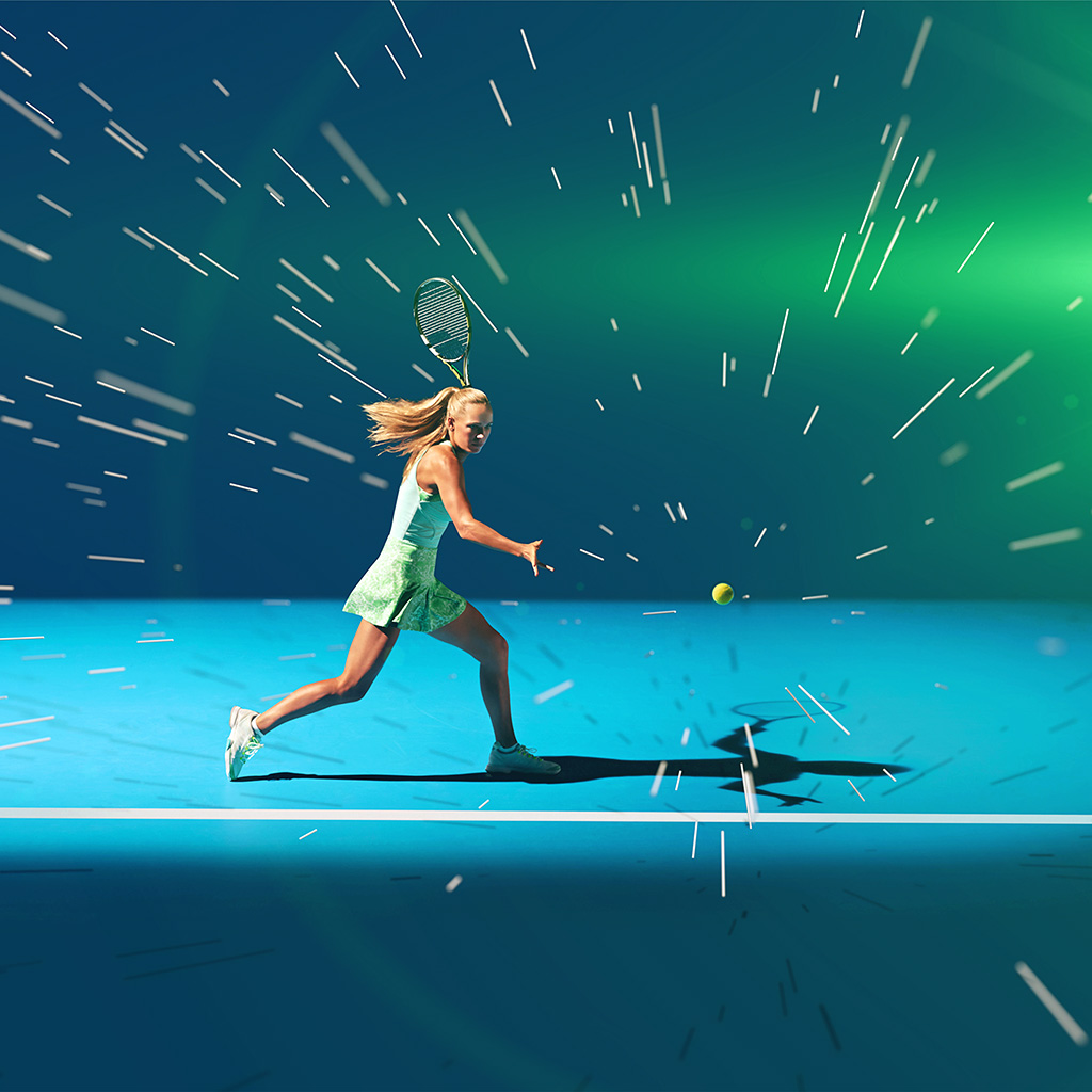 android-wallpaper-ay18-tennis-girl-blue-sports-illustration-art-flare-wallpaper