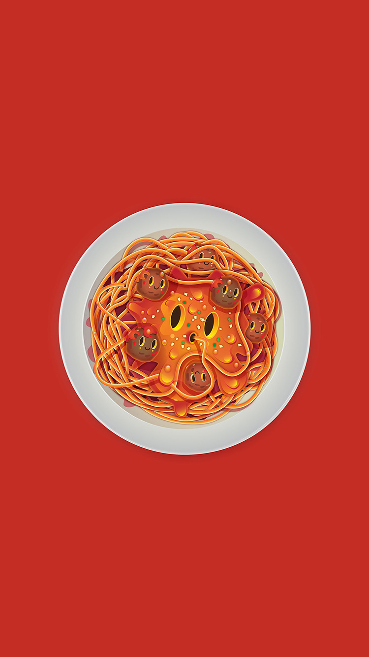 iPhone7papers.com-Apple-iPhone7-iphone7plus-wallpaper-ay22-pasta-red-chracter-cute-illustration-art