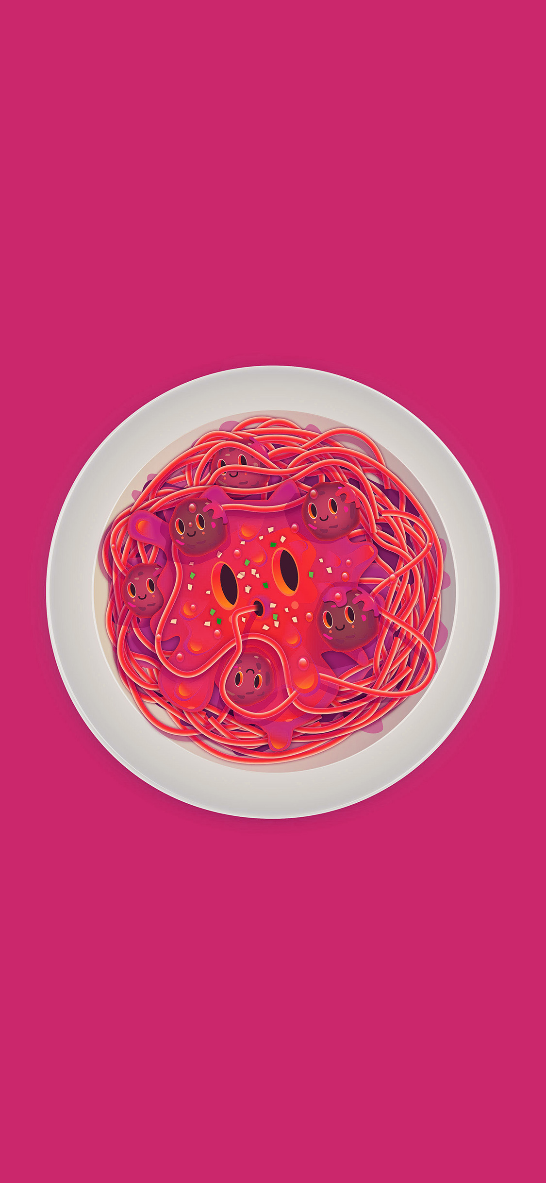 iPhonexpapers.com-Apple-iPhone-wallpaper-ay23-pasta-pink-chracter-cute-illustration-art