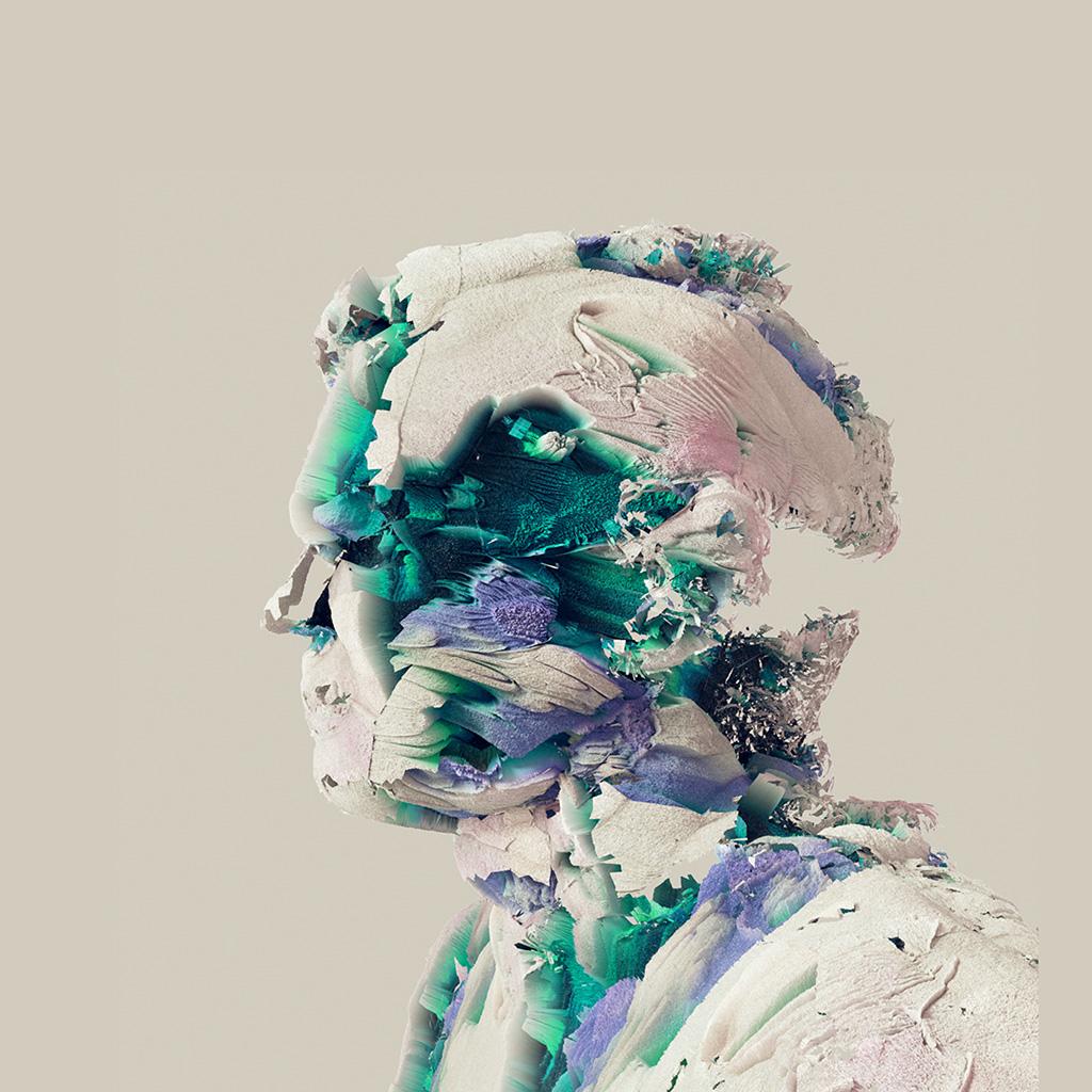 wallpaper-ay25-face-abstract-3d-illustration-art-green-wallpaper