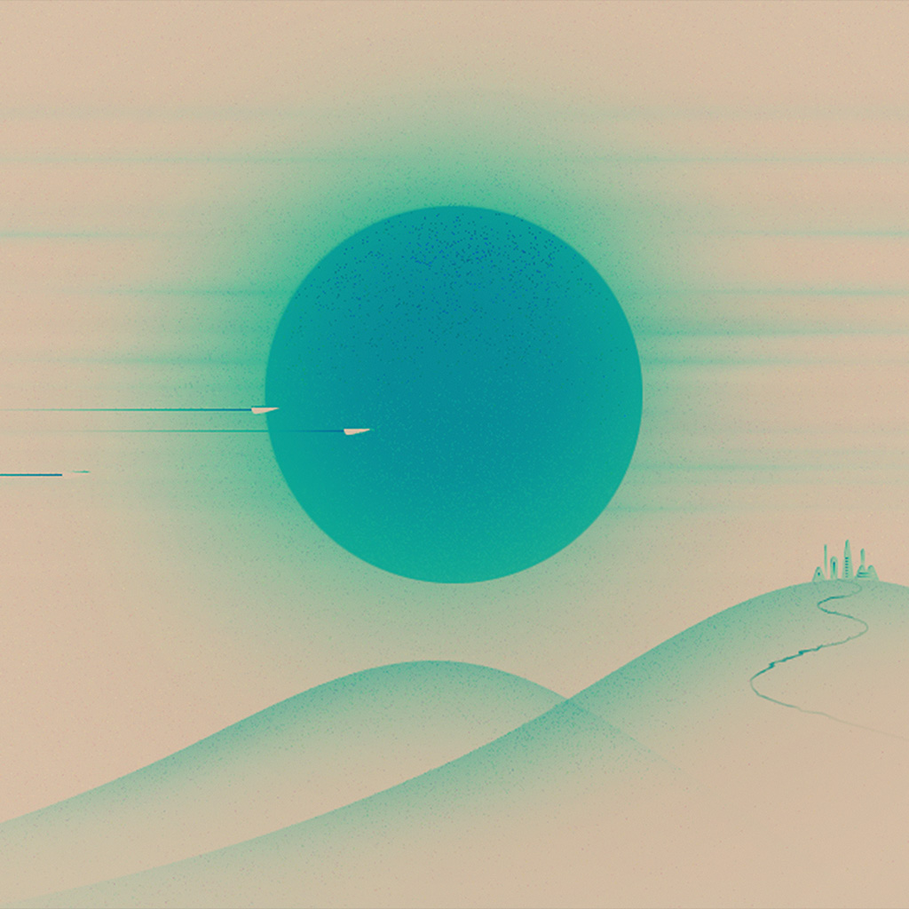 wallpaper-ay28-sunset-blue-minimal-illustration-art-wallpaper
