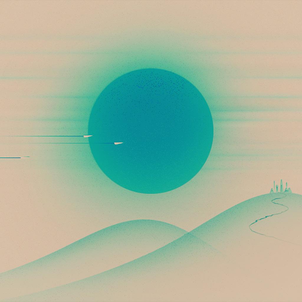 wallpaper-ay28-sunset-blue-minimal-illustration-art-wallpaper