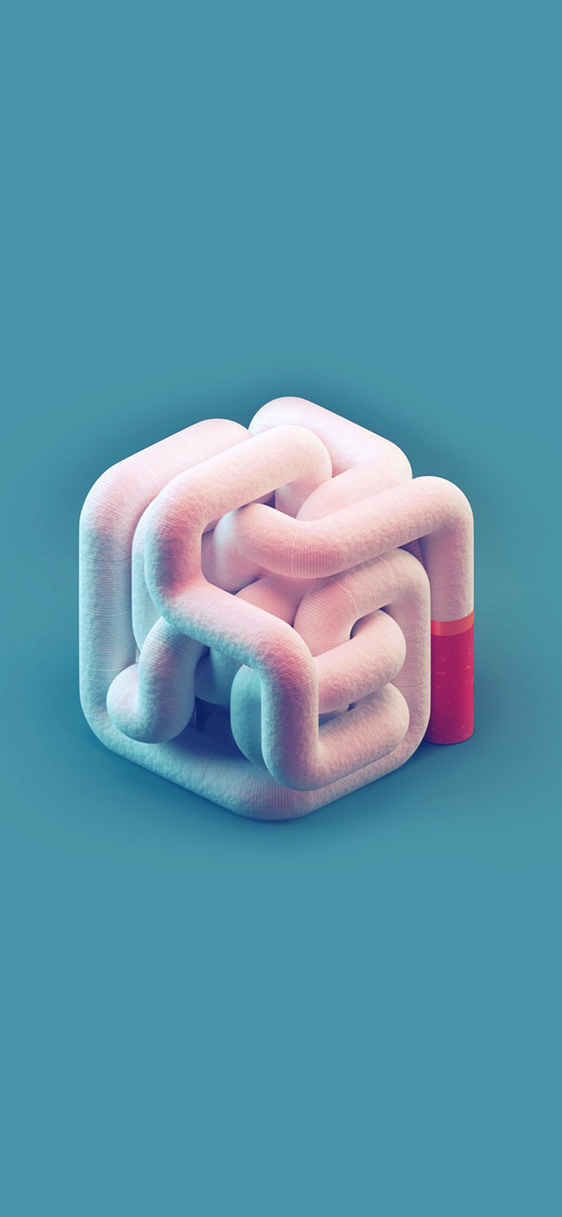 iPhonexpapers.com-Apple-iPhone-wallpaper-ay30-cigarette-smoke-minimal-blue-pink-illustration-art