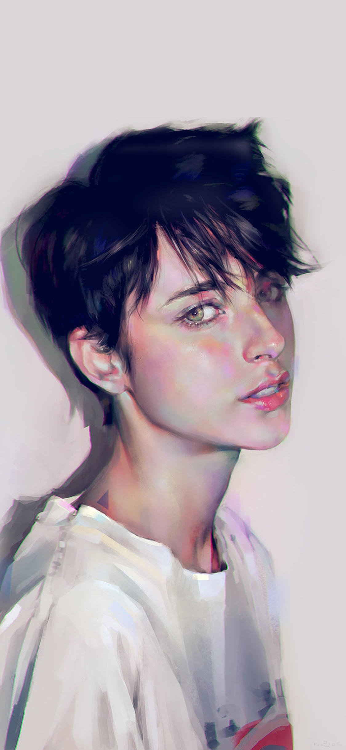iPhonexpapers.com-Apple-iPhone-wallpaper-ay34-yanjun-cheng-girl-sporty-illustration-art-color