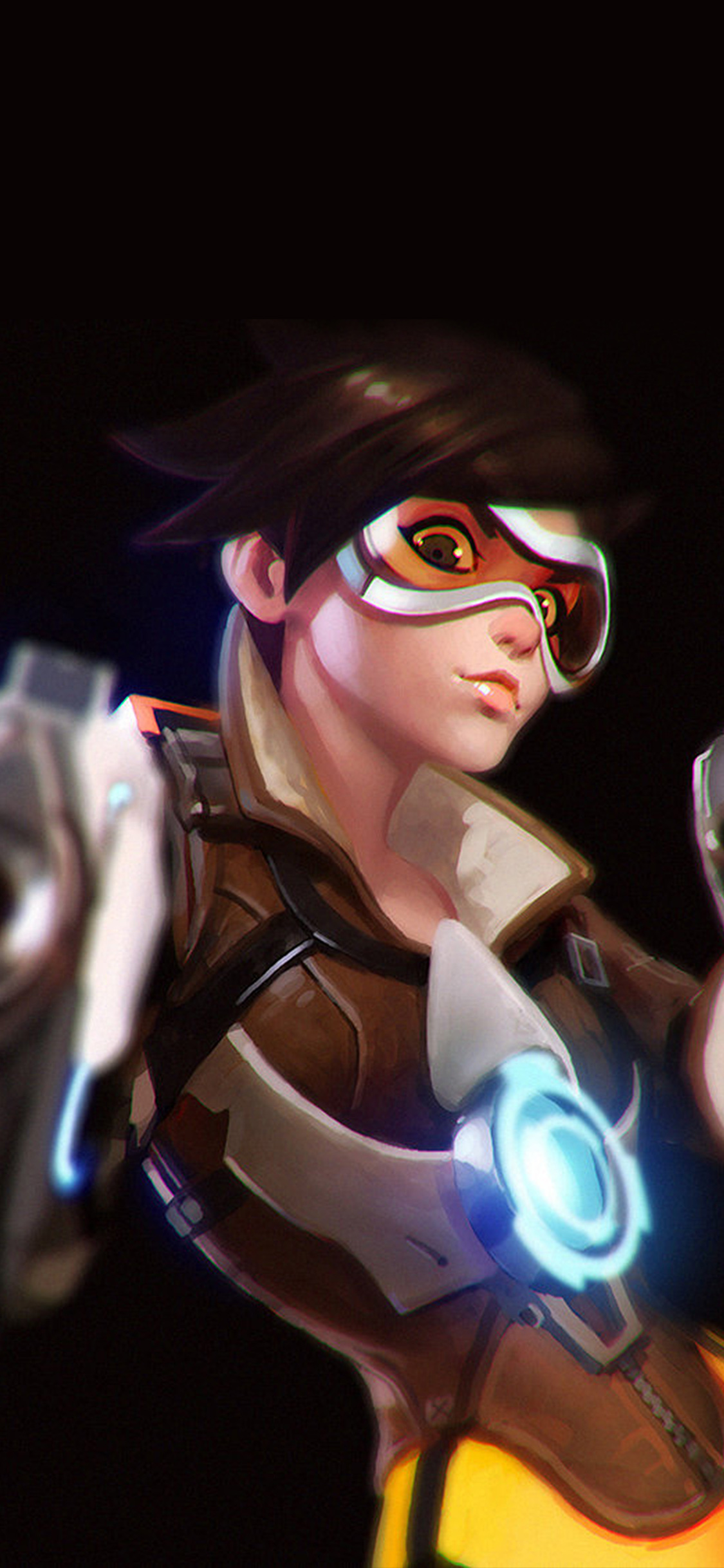 iPhoneXpapers.com-Apple-iPhone-wallpaper-ay35-ilya-kuvshinov-overwatch-tracer-hero-game-illustration-art