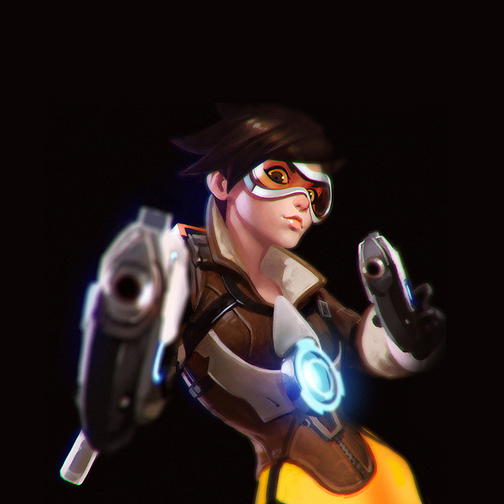 wallpaper-ay35-ilya-kuvshinov-overwatch-tracer-hero-game-illustration-art-wallpaper