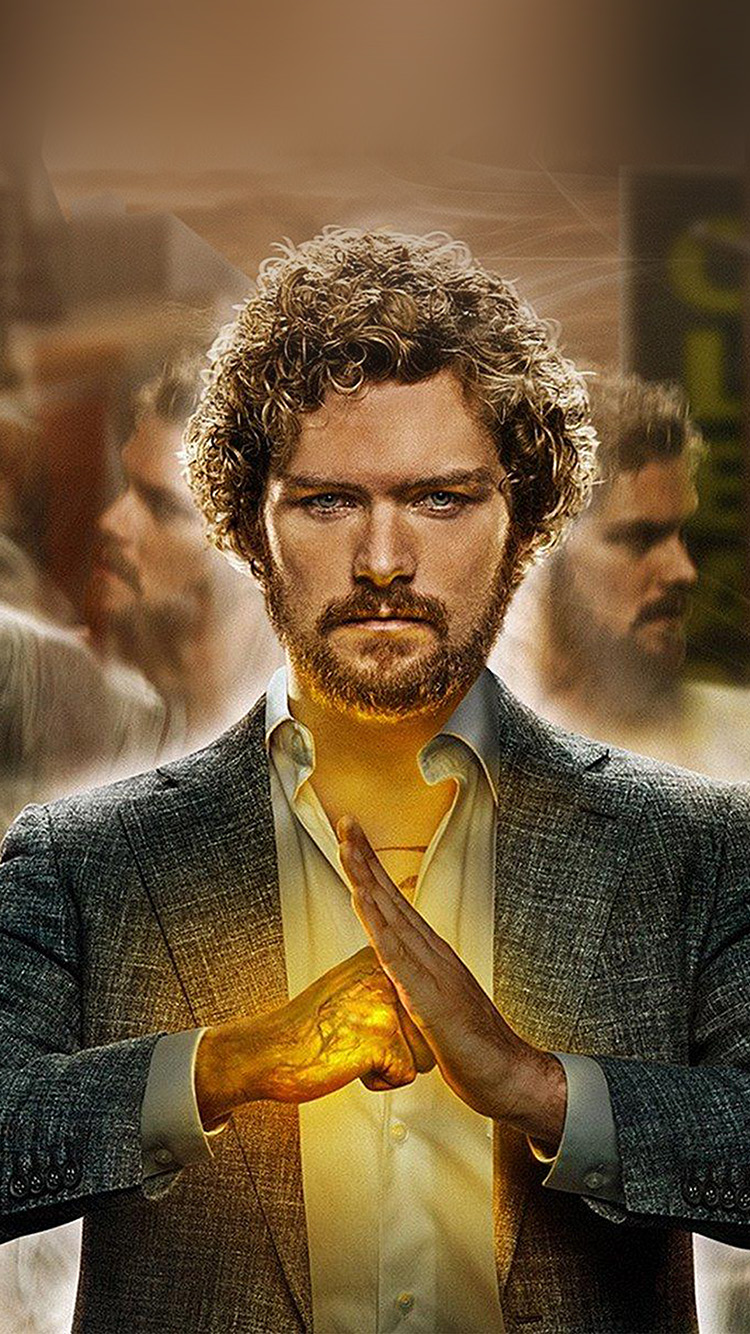 Papers.co-iPhone5-iphone6-plus-wallpaper-ay40-ironfist-marvel-poster-film-illustration-art