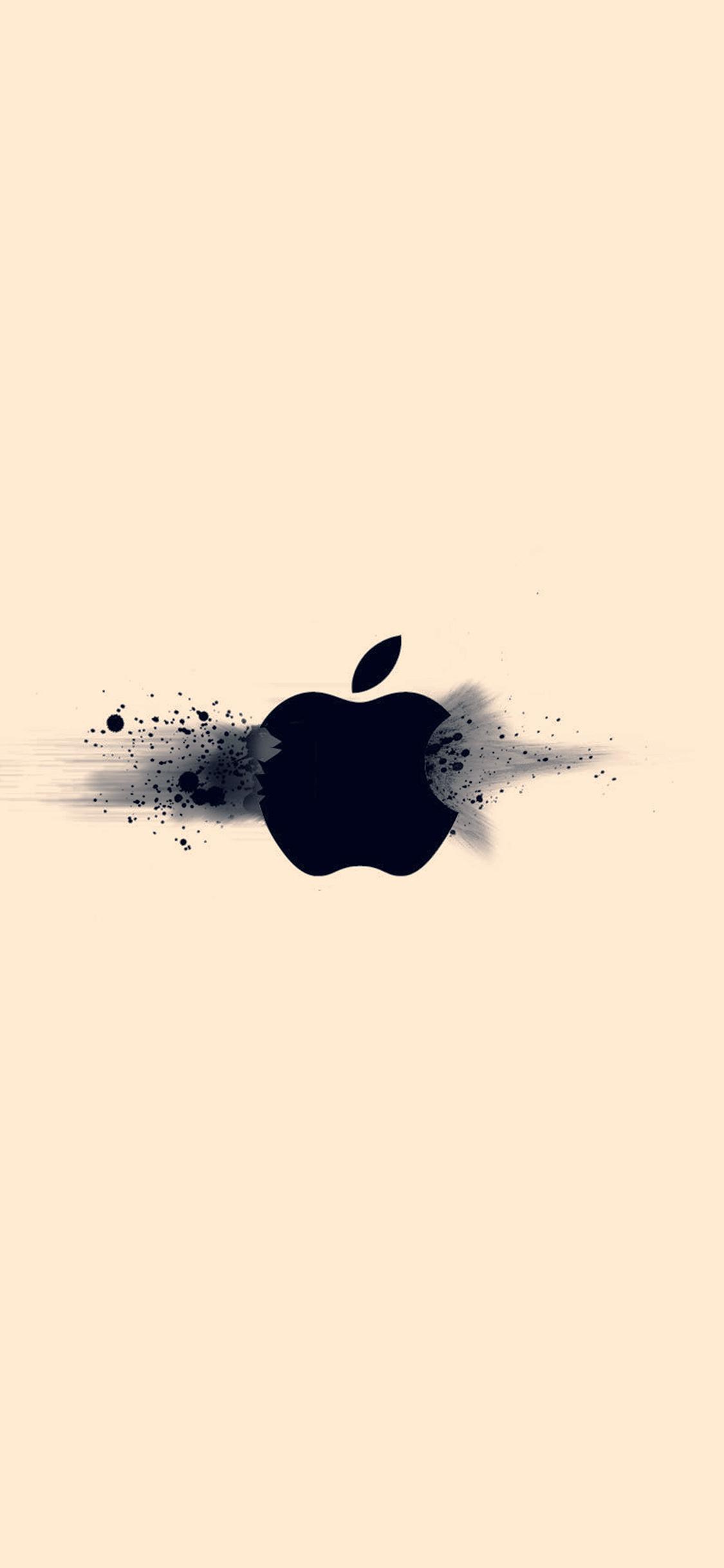 iPhoneXpapers.com-Apple-iPhone-wallpaper-ay48-apple-logo-ihate-ivory-minimal-illustration-art