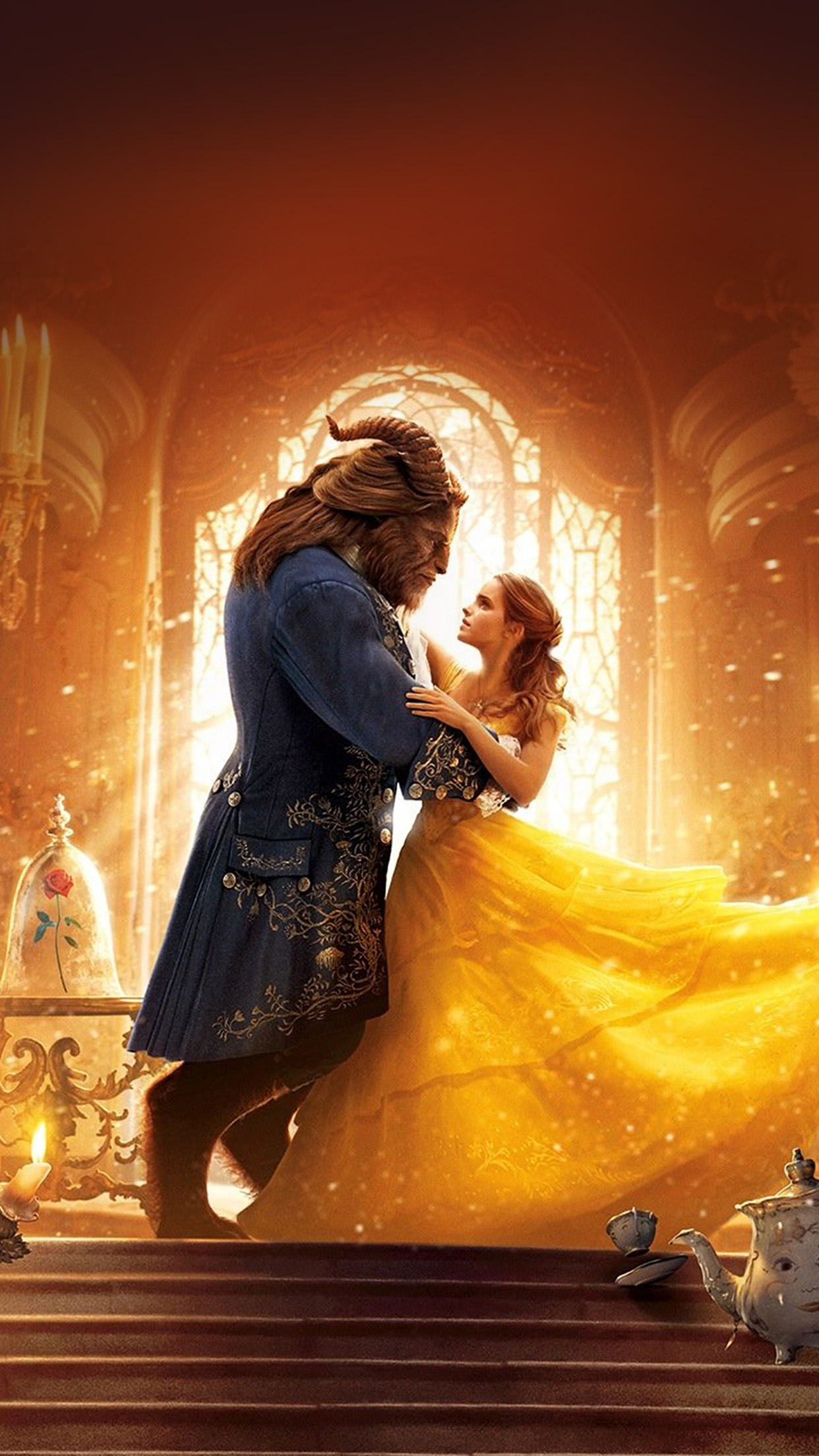 Beauty And Fashion Youtube: Ay51-beauty-beast-dance-film-illustration-art-wallpaper