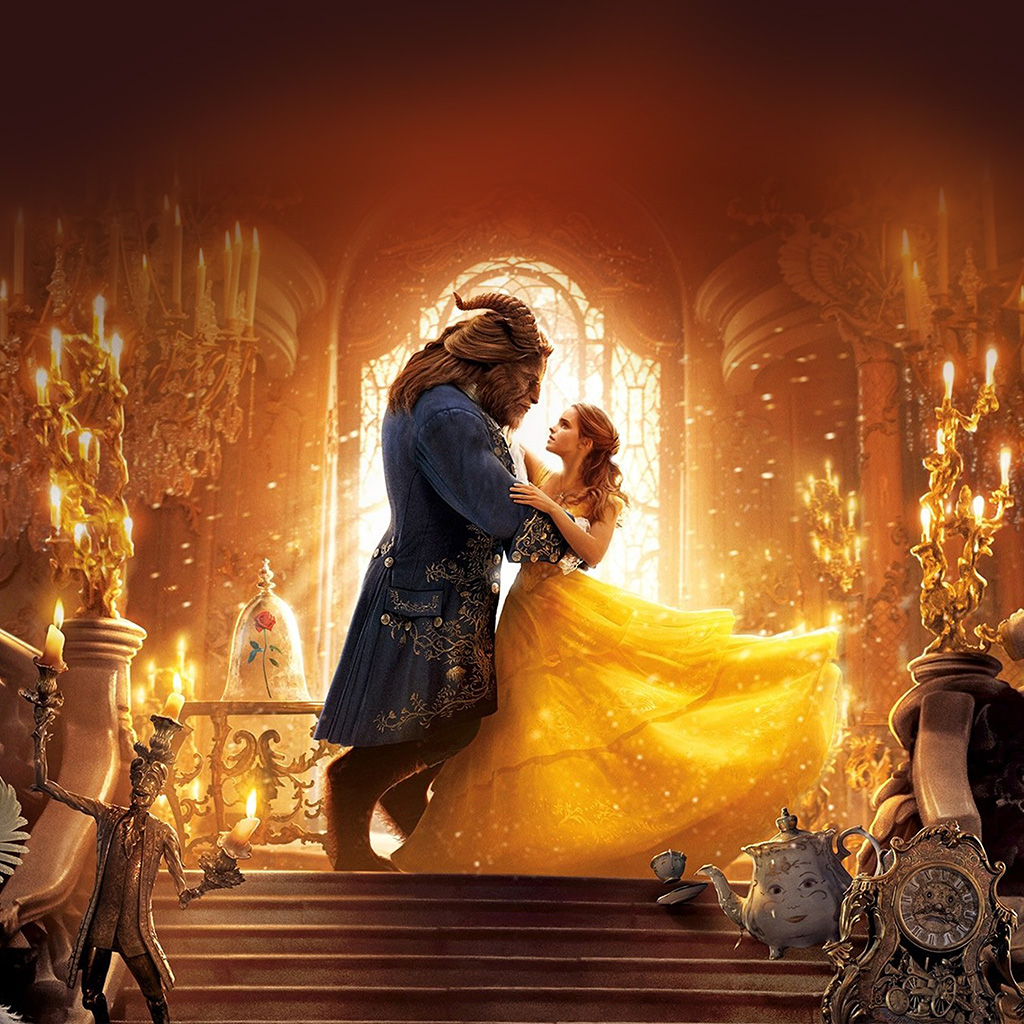 wallpaper-ay51-beauty-beast-dance-film-illustration-art-wallpaper