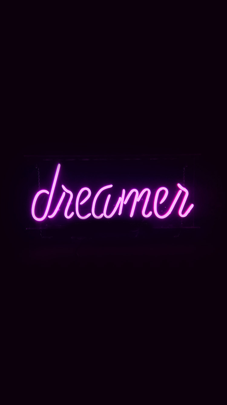iPhone6papers.co-Apple-iPhone-6-iphone6-plus-wallpaper-ay55-dreamers-neon-sign-dark-illustration-art-purple
