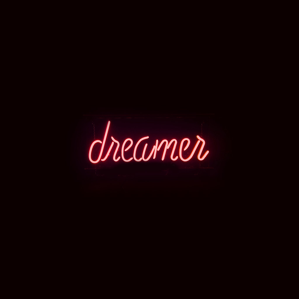 wallpaper-ay56-dreamers-neon-sign-dark-illustration-art-red-wallpaper
