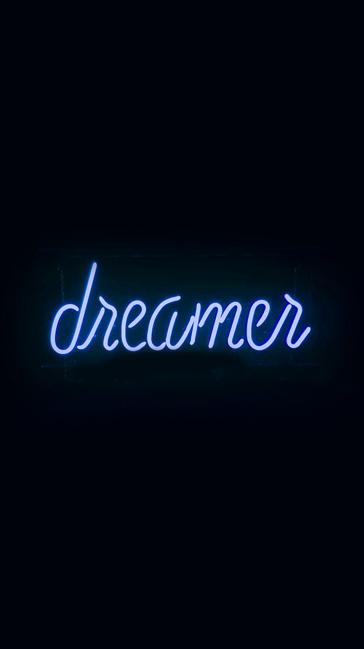 iPhone6papers.co-Apple-iPhone-6-iphone6-plus-wallpaper-ay57-dreamers-neon-sign-dark-illustration-art-blue