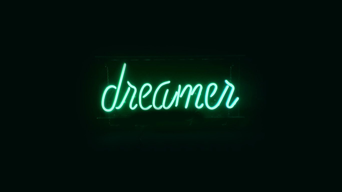 desktop-wallpaper-laptop-mac-macbook-air-ay58-dreamers-neon-sign-dark-illustration-art-green-wallpaper