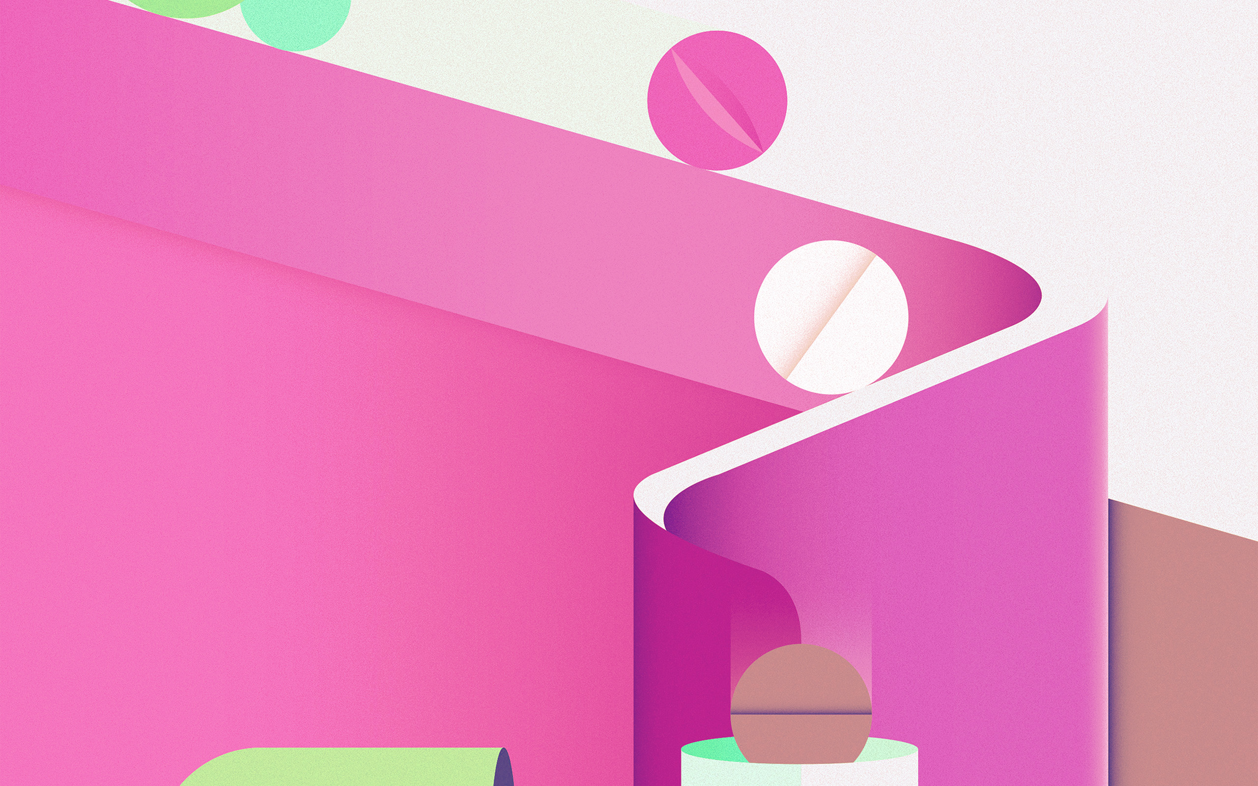 Ay65 minimal painting color illustration art pink for Art minimal color