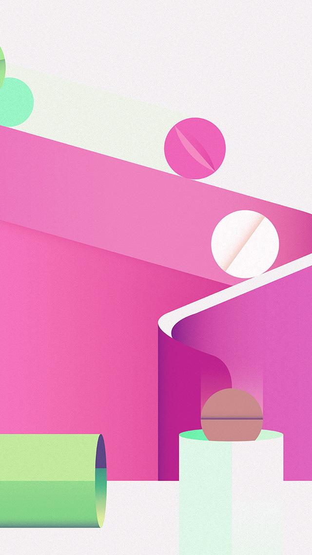 freeios8.com-iphone-4-5-6-plus-ipad-ios8-ay65-minimal-painting-color-illustration-art-pink