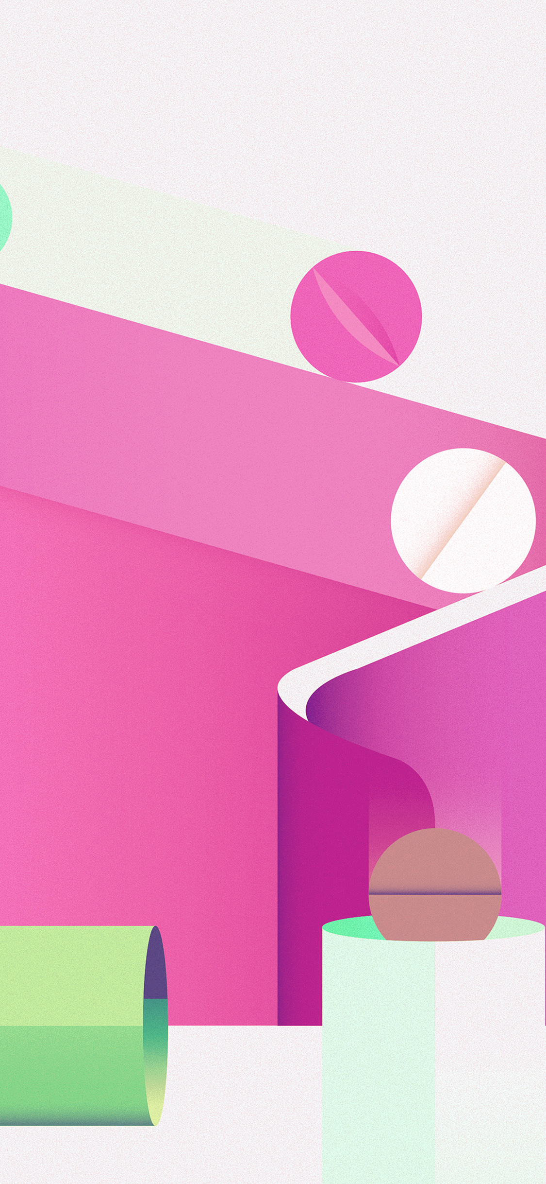 iPhoneXpapers.com-Apple-iPhone-wallpaper-ay65-minimal-painting-color-illustration-art-pink