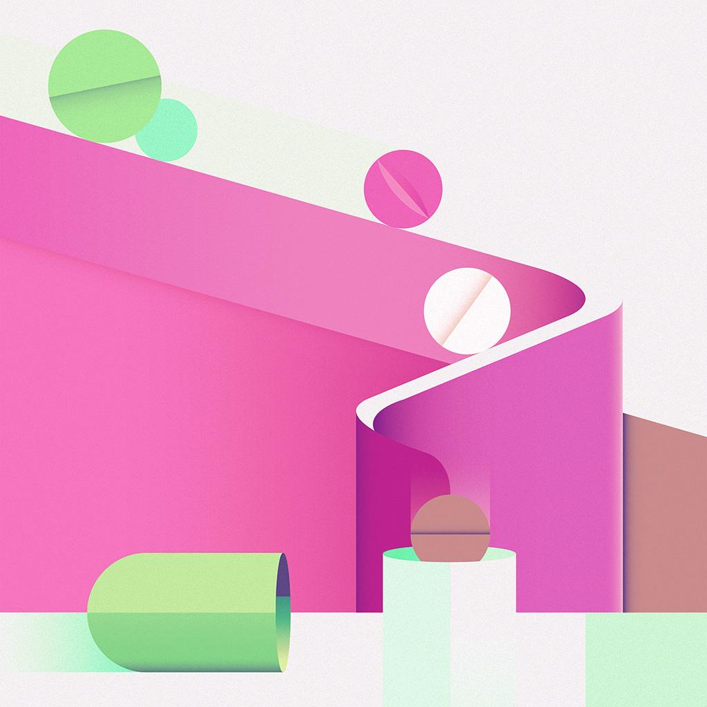 wallpaper-ay65-minimal-painting-color-illustration-art-pink-wallpaper