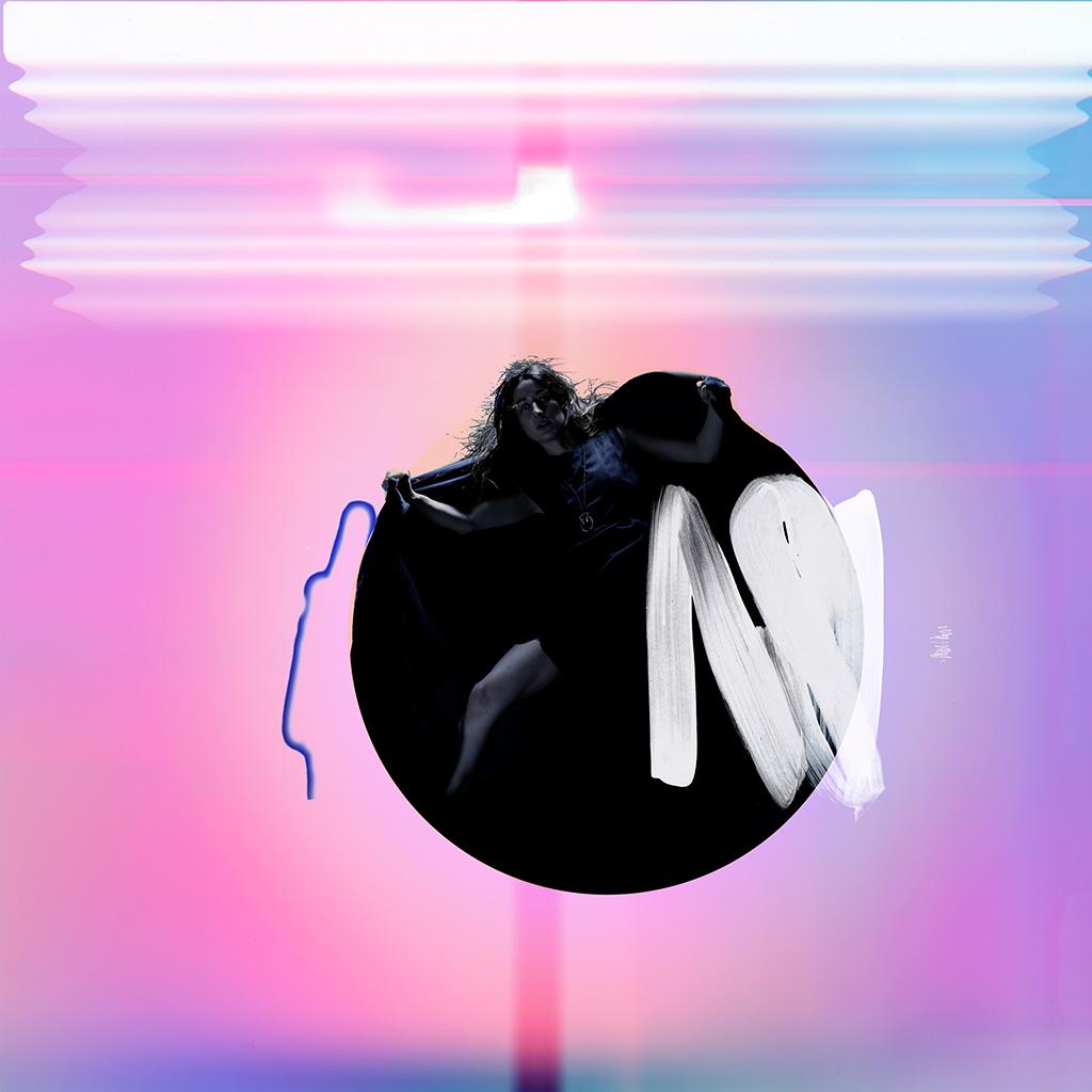 Iphone wallpaper ay68 album art girl neon for Minimal art neon
