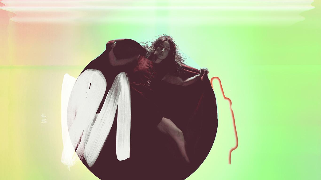 wallpaper-desktop-laptop-mac-macbook-ay69-album-art-girl-neon-light-minimal-illustration-art-green