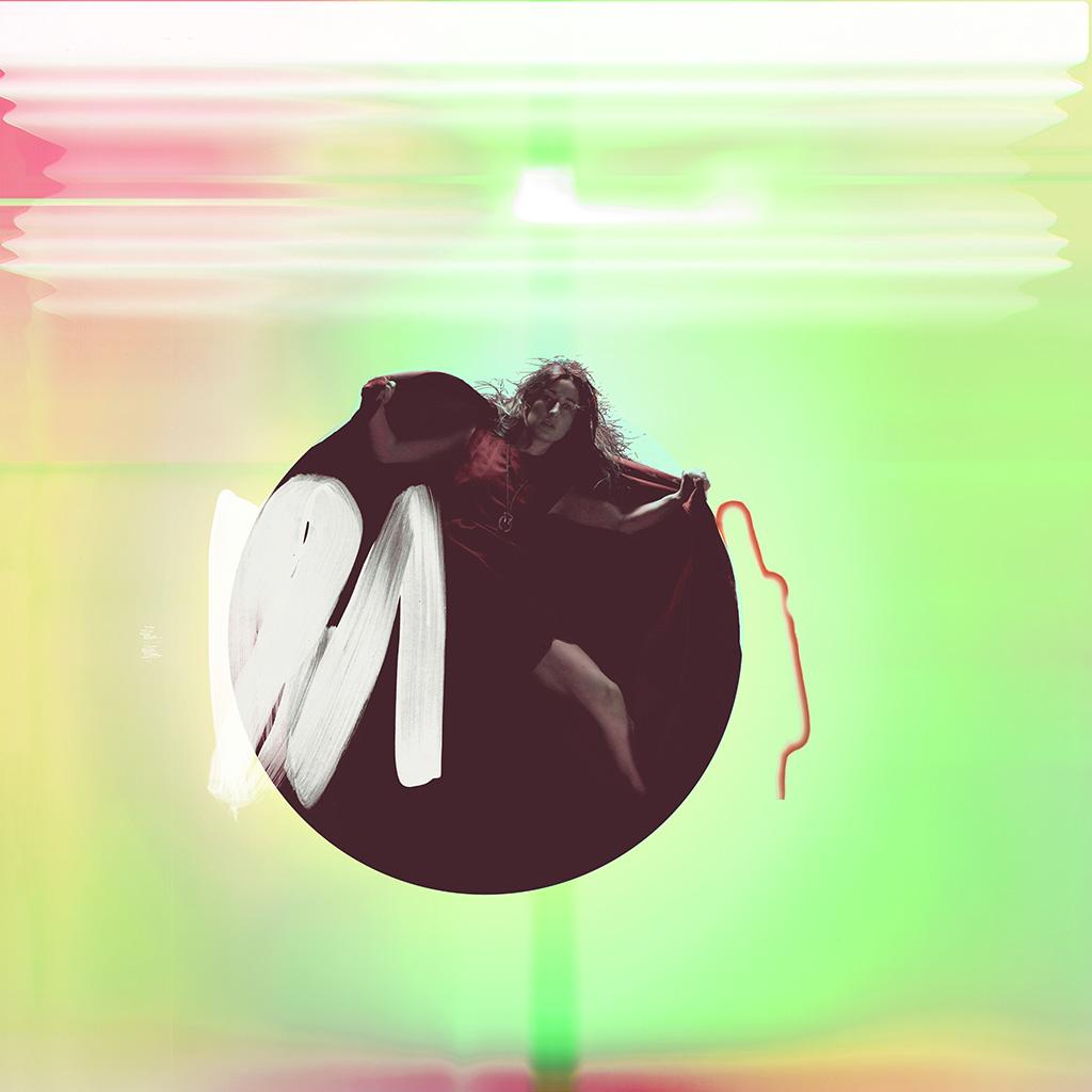 wallpaper-ay69-album-art-girl-neon-light-minimal-illustration-art-green-wallpaper