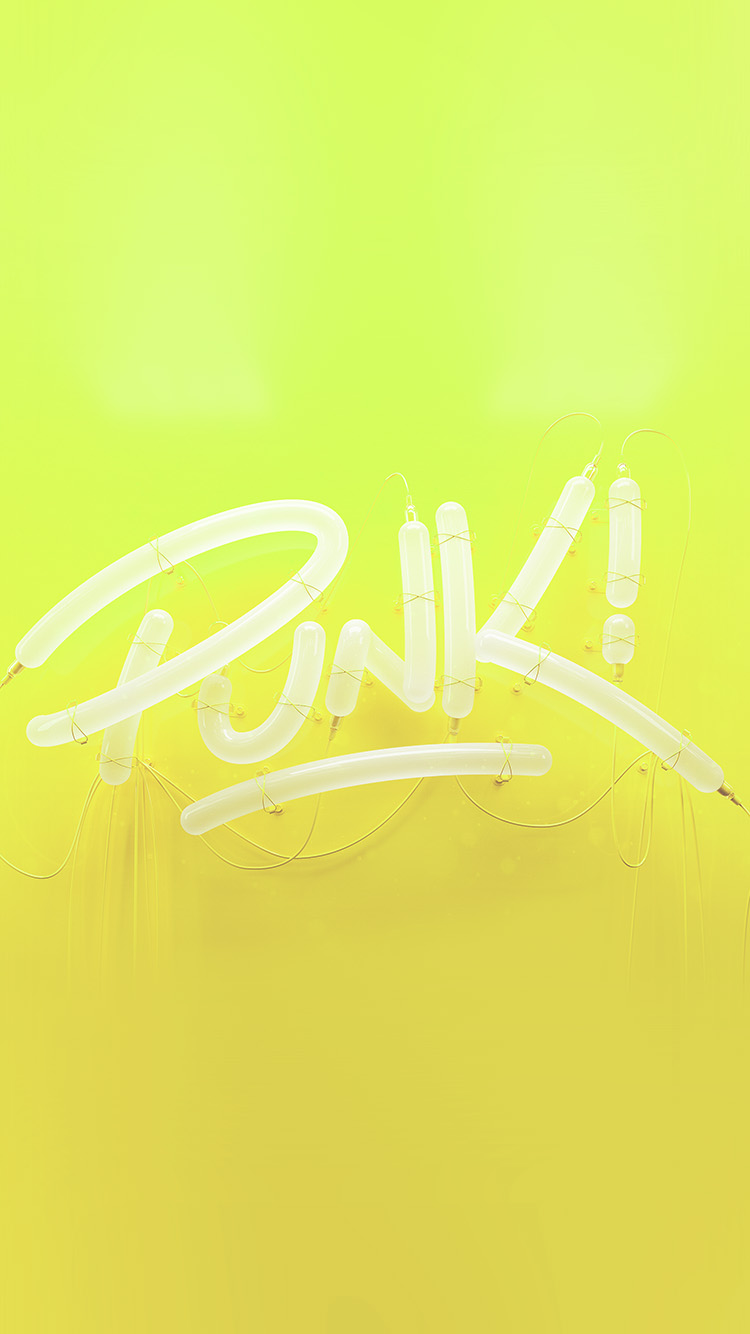 iPhonepapers.com-Apple-iPhone-wallpaper-ay79-punk-neon-sign-art-minimal-illustration-art-yellow