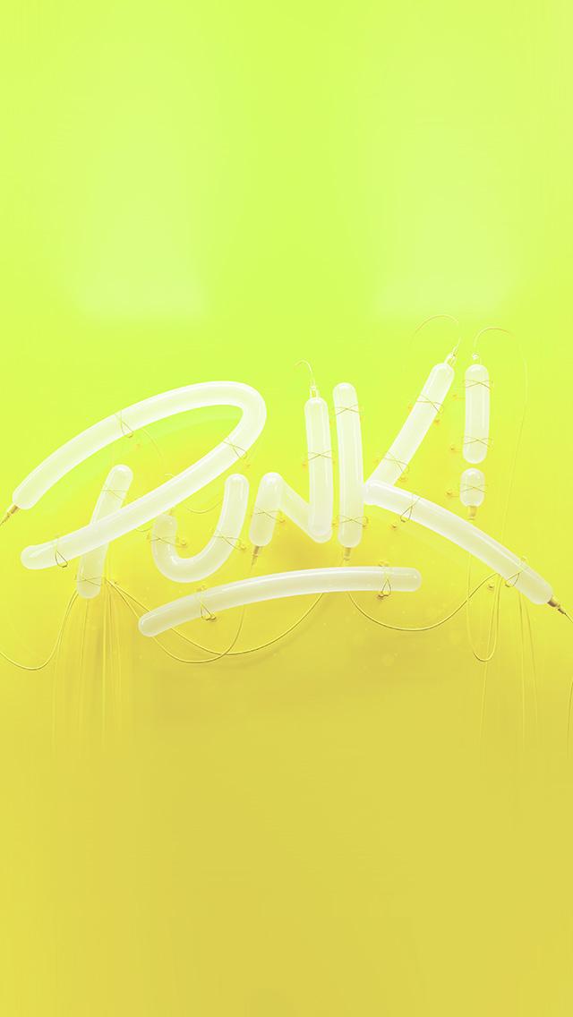 freeios8.com-iphone-4-5-6-plus-ipad-ios8-ay79-punk-neon-sign-art-minimal-illustration-art-yellow