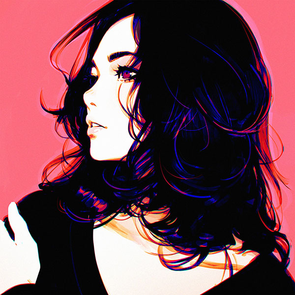 iPapers.co-Apple-iPhone-iPad-Macbook-iMac-wallpaper-ay99-ilya-kuvshinov-pink-lady-girl-illustration-art-wallpaper