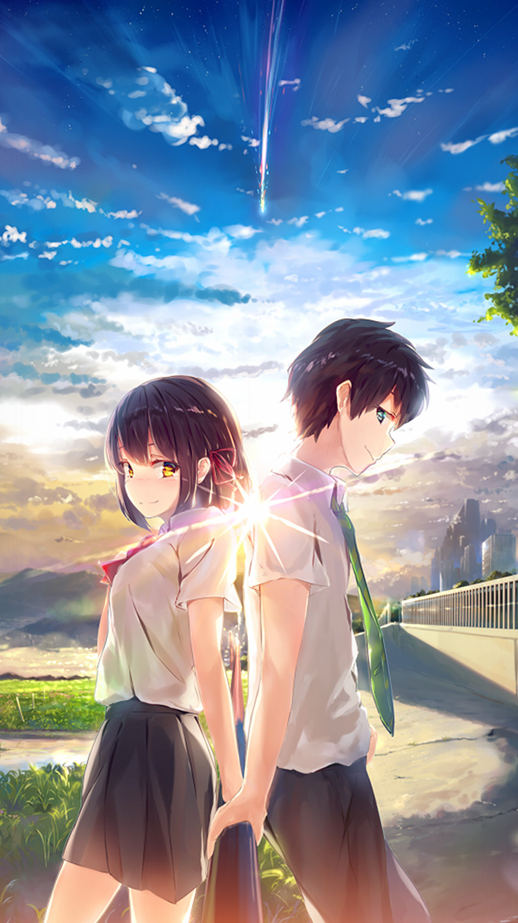 Papers.co-iPhone5-iphone6-plus-wallpaper-az03-anime-yourname-sky-illustration-art