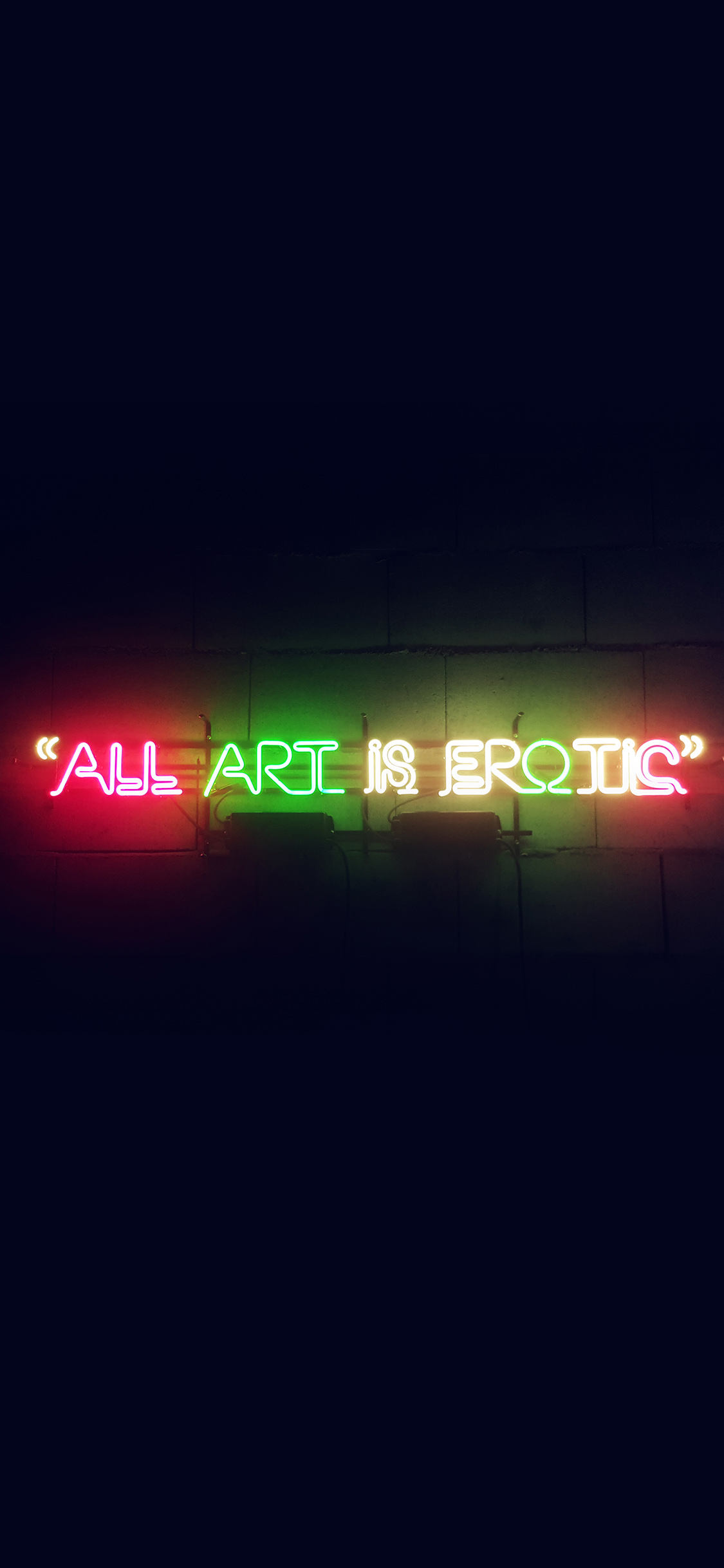iPhonexpapers.com-Apple-iPhone-wallpaper-az05-all-art-is-erotic-dark-neon-illustration-art-sign