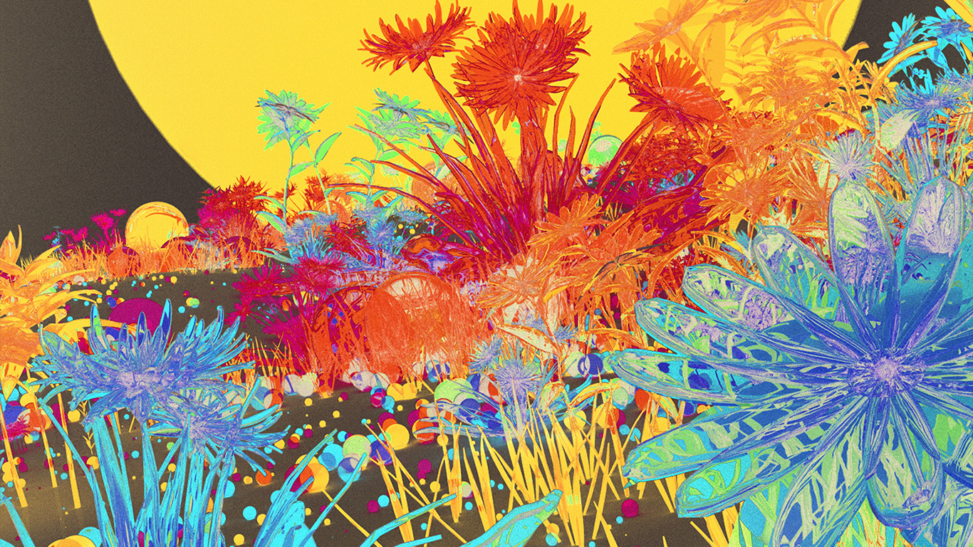 wallpaper-desktop-laptop-mac-macbook-az09-flower-art-neon-illustration-art-inverted