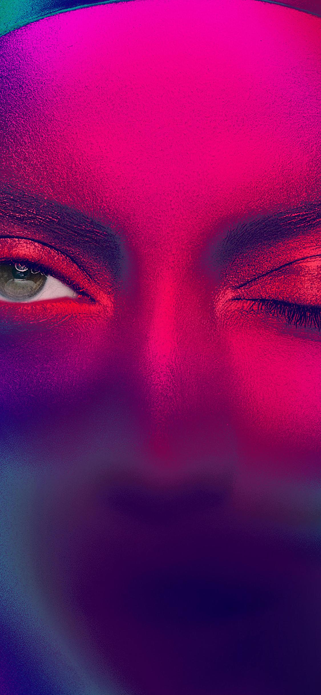 iPhoneXpapers.com-Apple-iPhone-wallpaper-az19-eye-rainbow-color-illustration-art