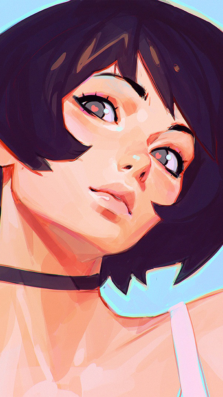 iPhone6papers.co-Apple-iPhone-6-iphone6-plus-wallpaper-az35-girl-face-ilya-kuvshinov-illustration-art