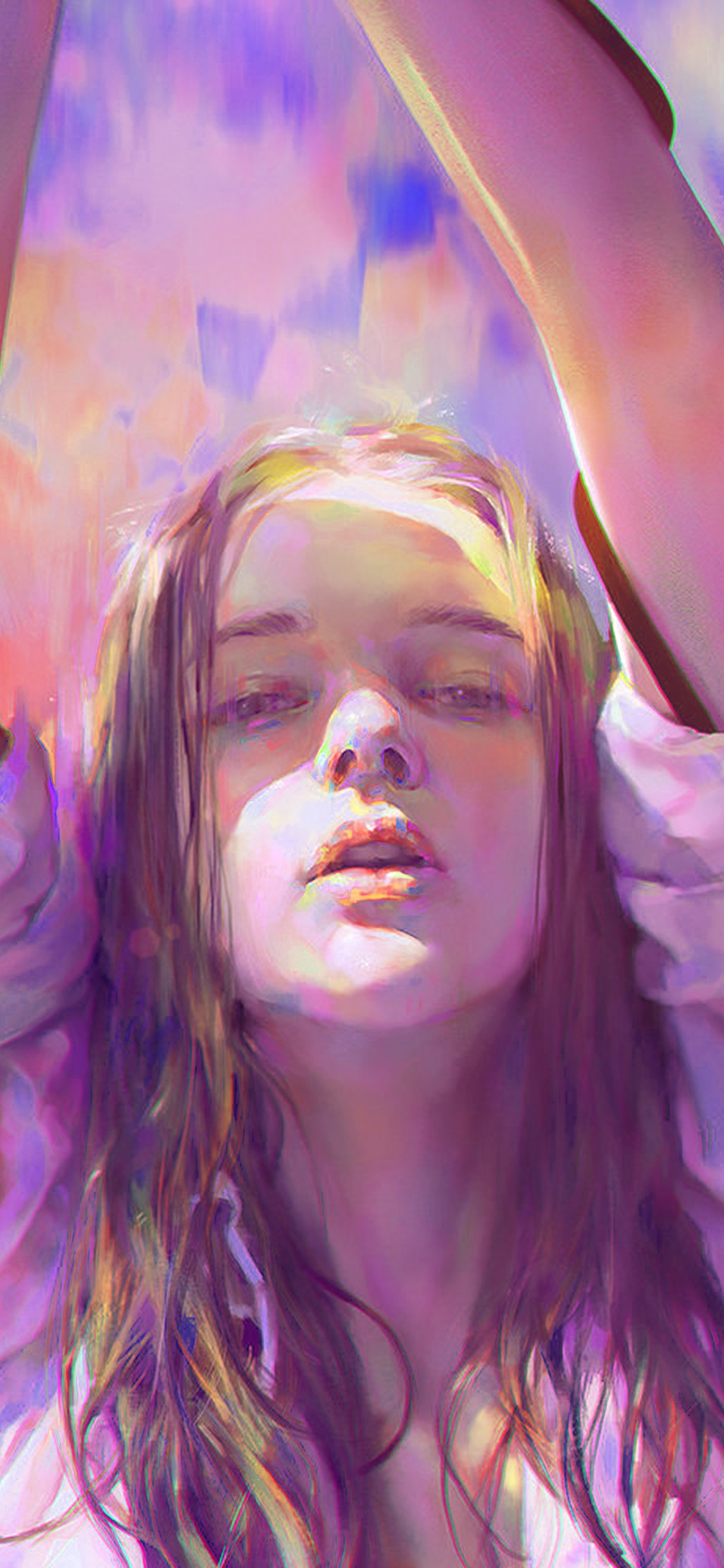 iPhonexpapers.com-Apple-iPhone-wallpaper-az38-yanjun-cheng-girl-color-illustration-art-paint