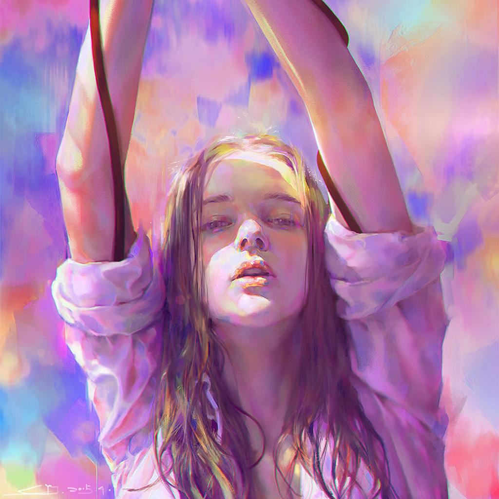android-wallpaper-az38-yanjun-cheng-girl-color-illustration-art-paint-wallpaper