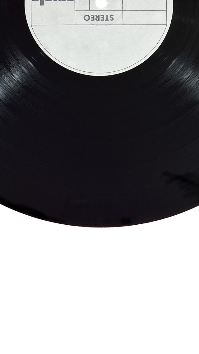 freeios8.com-iphone-4-5-6-plus-ipad-ios8-az45-record-black-simple-minimal-illustration-art
