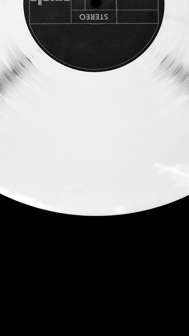 freeios8.com-iphone-4-5-6-plus-ipad-ios8-az46-record-black-simple-minimal-illustration-art-dark