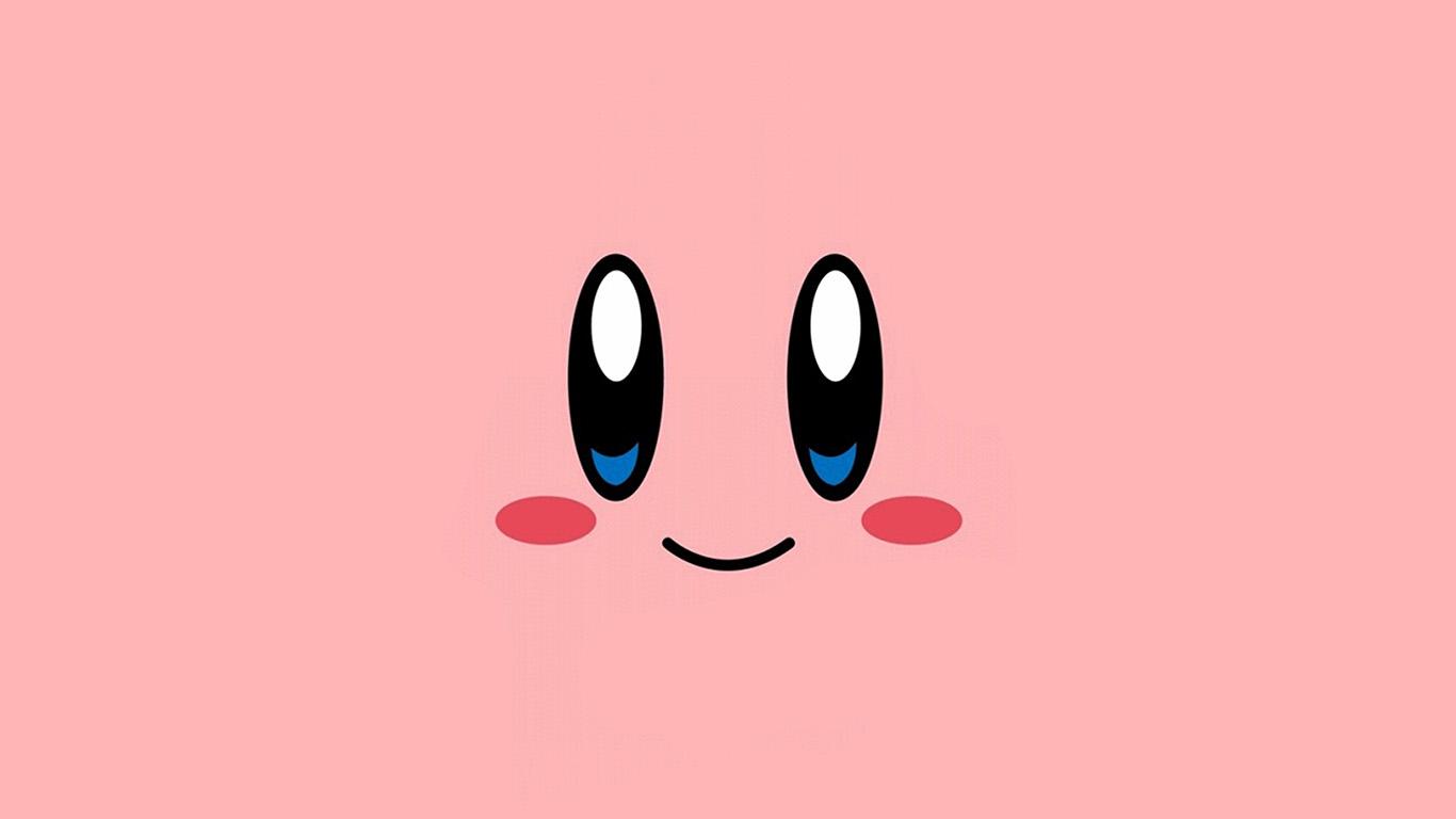 wallpaper-desktop-laptop-mac-macbook-az54-kirby-pink-face-cute-illustration-art