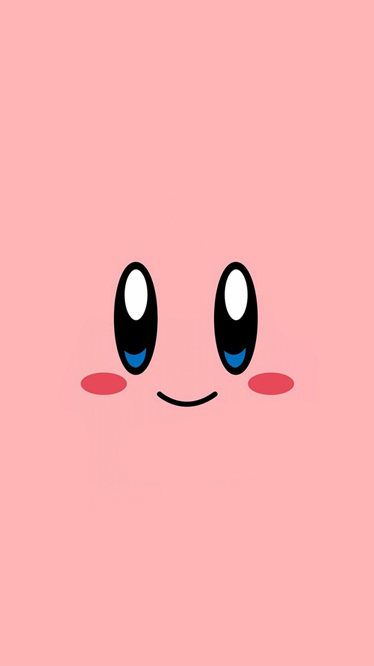 iPhone6papers.co-Apple-iPhone-6-iphone6-plus-wallpaper-az54-kirby-pink-face-cute-illustration-art