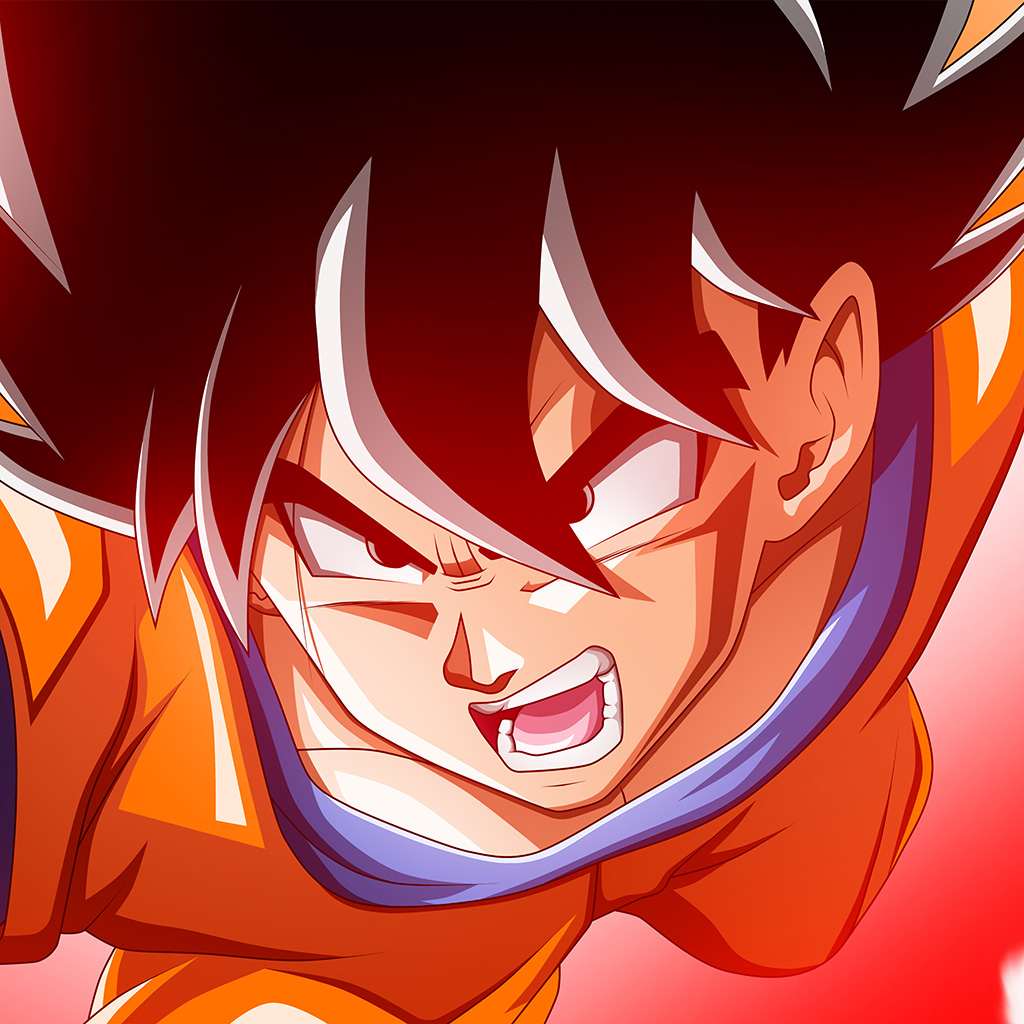 Papersco Android Wallpaper Az59 Dragonball Red Cartoon