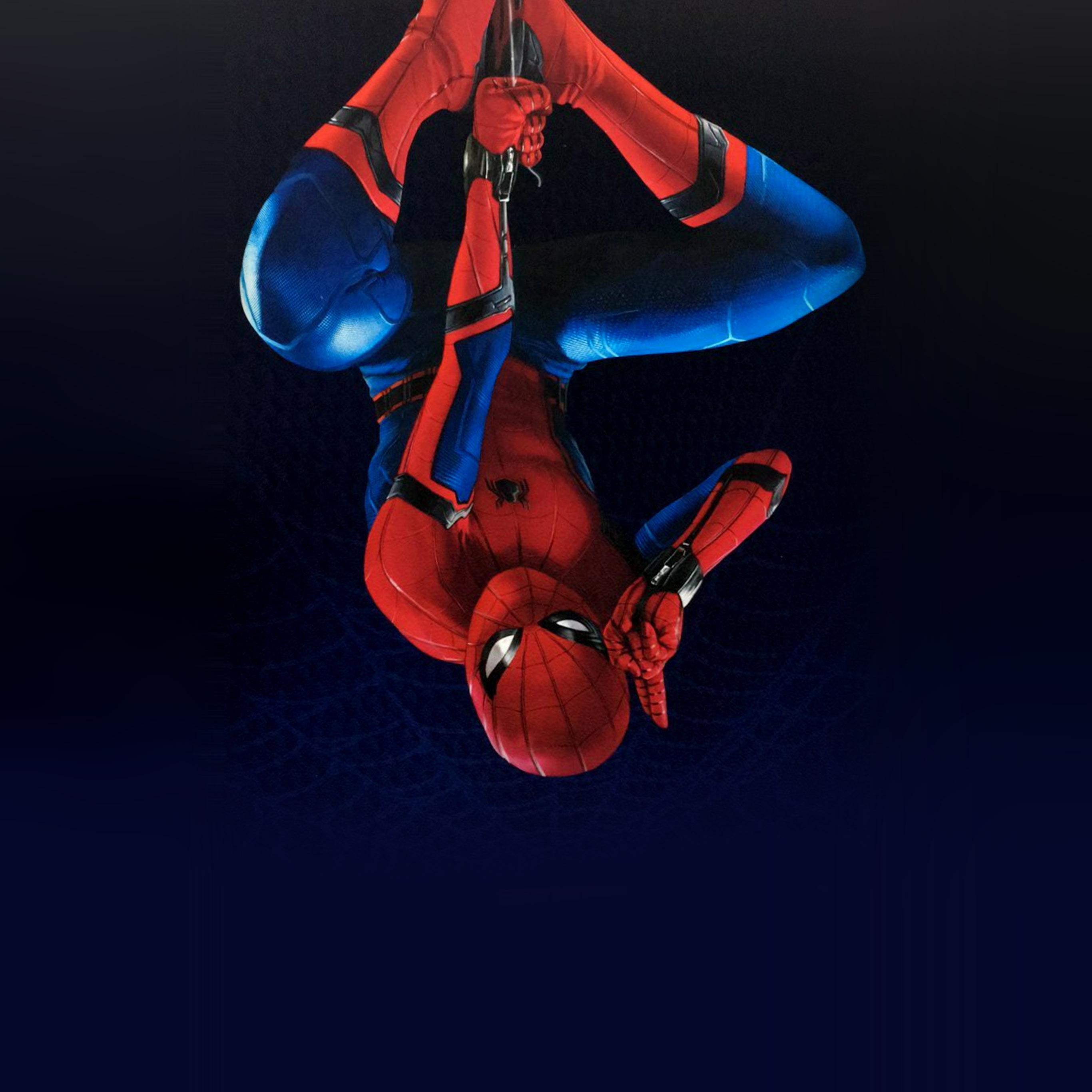 Az61 Spiderman Homecoming Hero Film Illustration Art Wallpaper